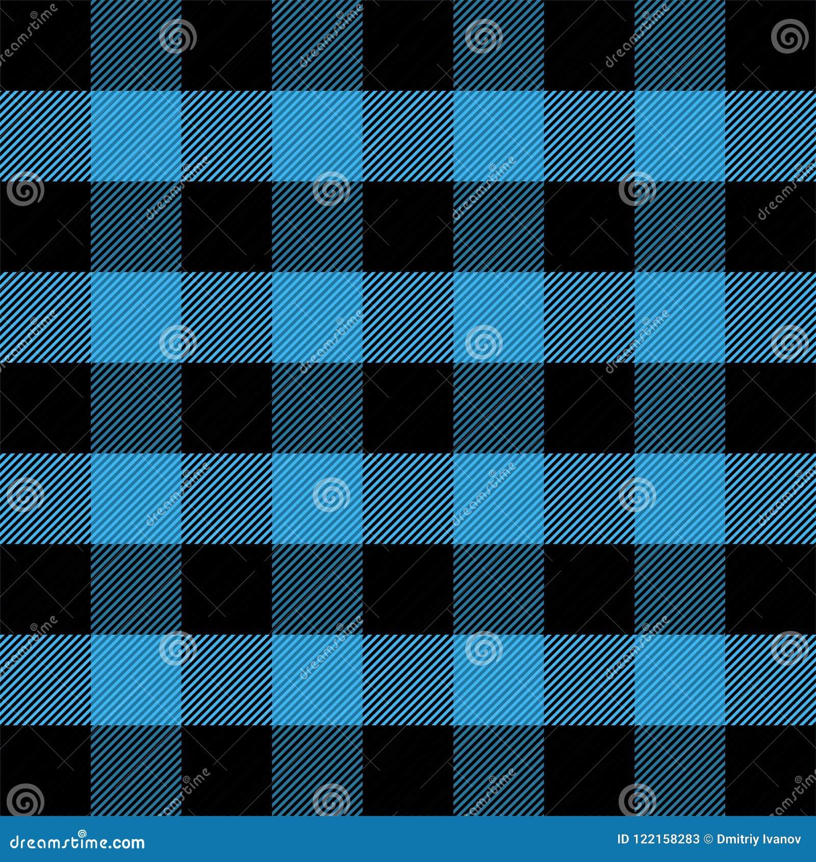 Шотландка Lumberjack Шотландская предпосылка клетки