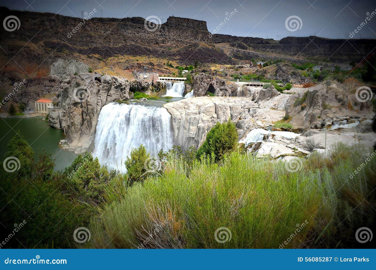 Шошон падает в Twin Falls, Айдахо