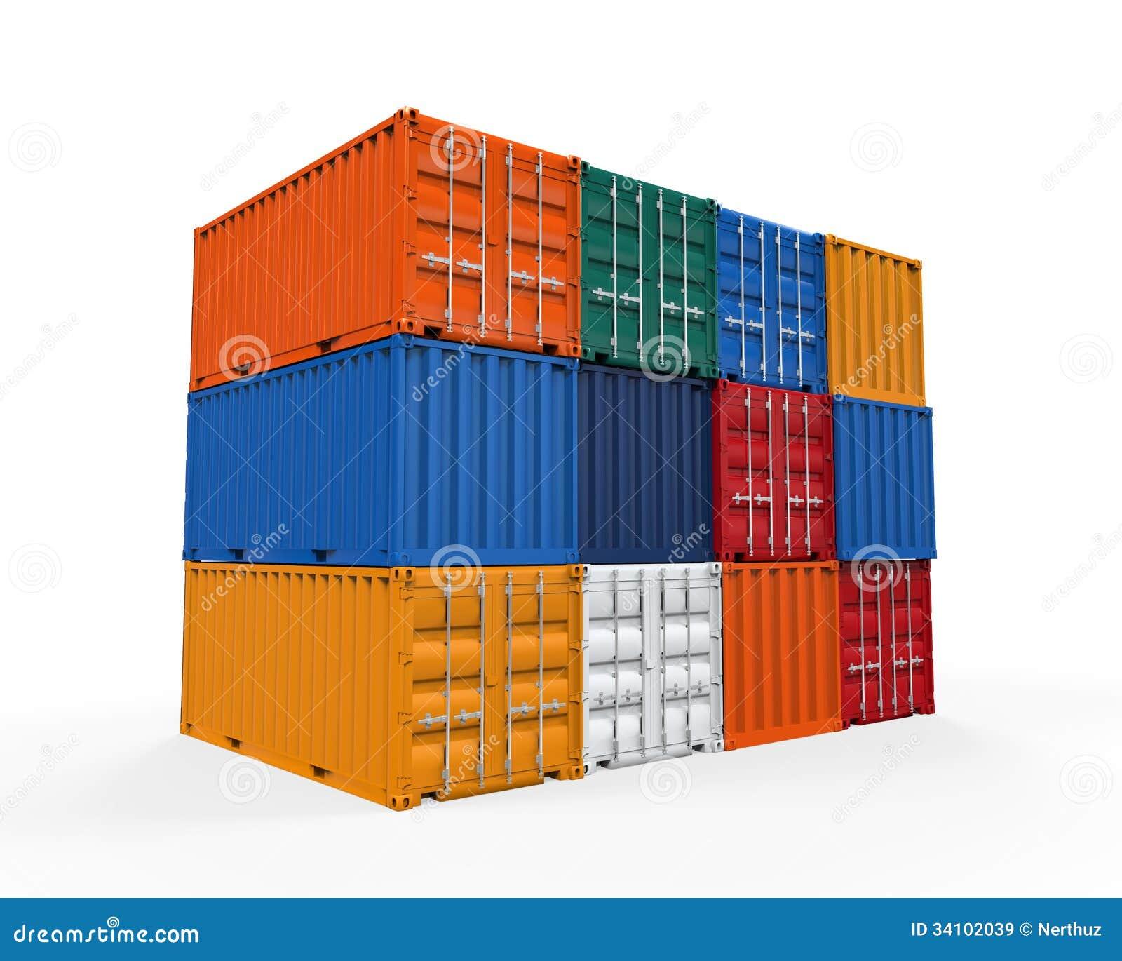 Штабелированный контейнер для перевозок