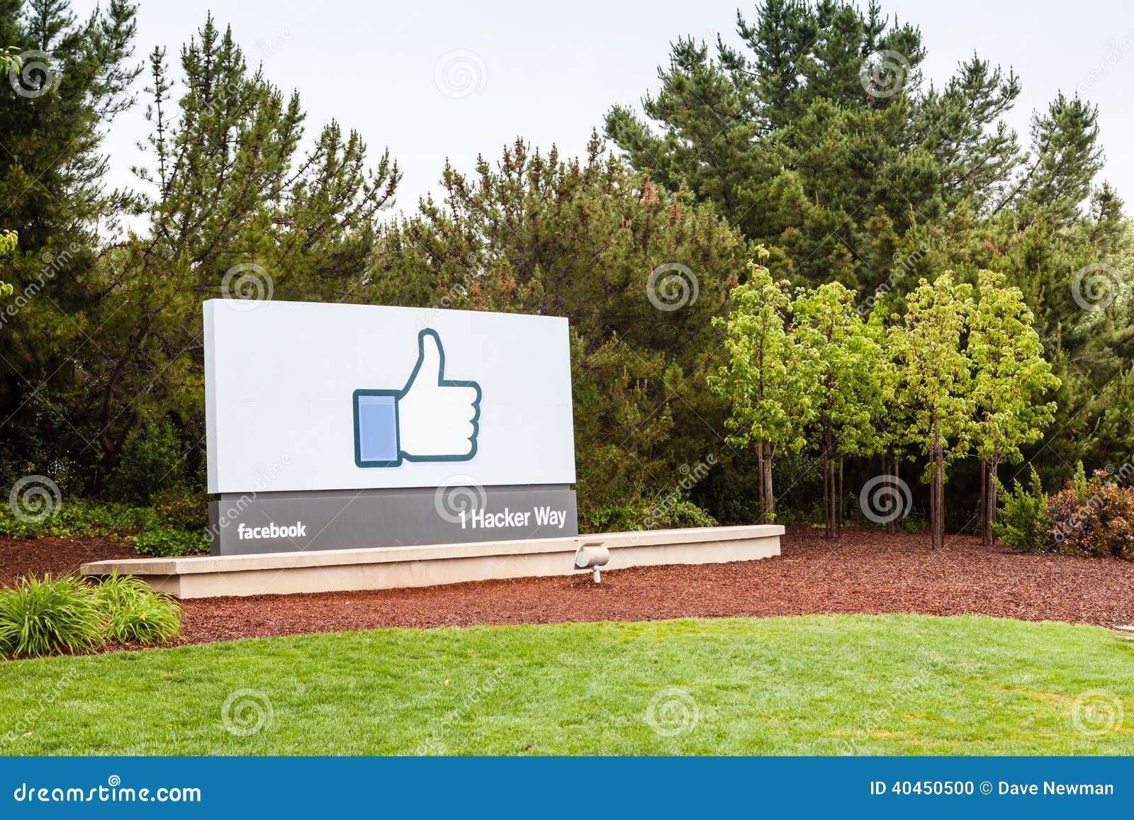 Штабы Facebook в Менло Парк, Калифорнии