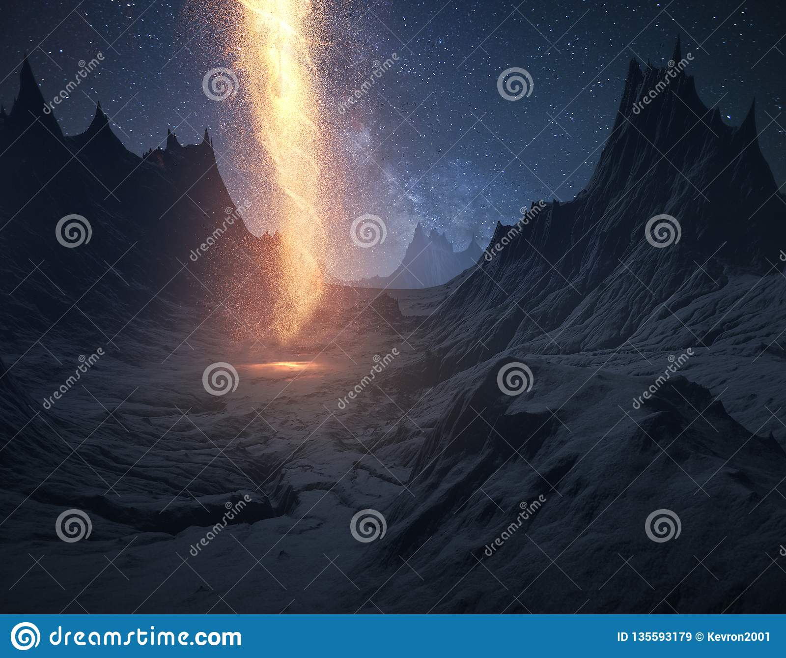 Штендер огня
