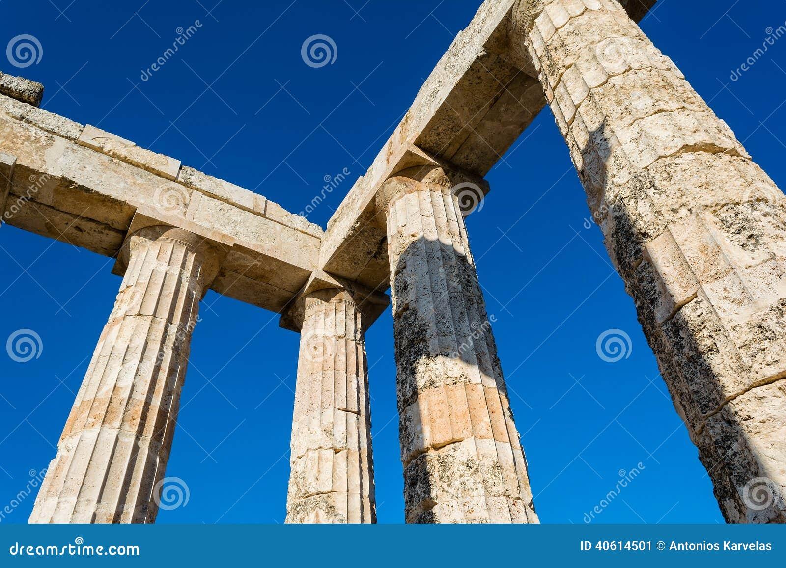Штендеры старого виска Зевса