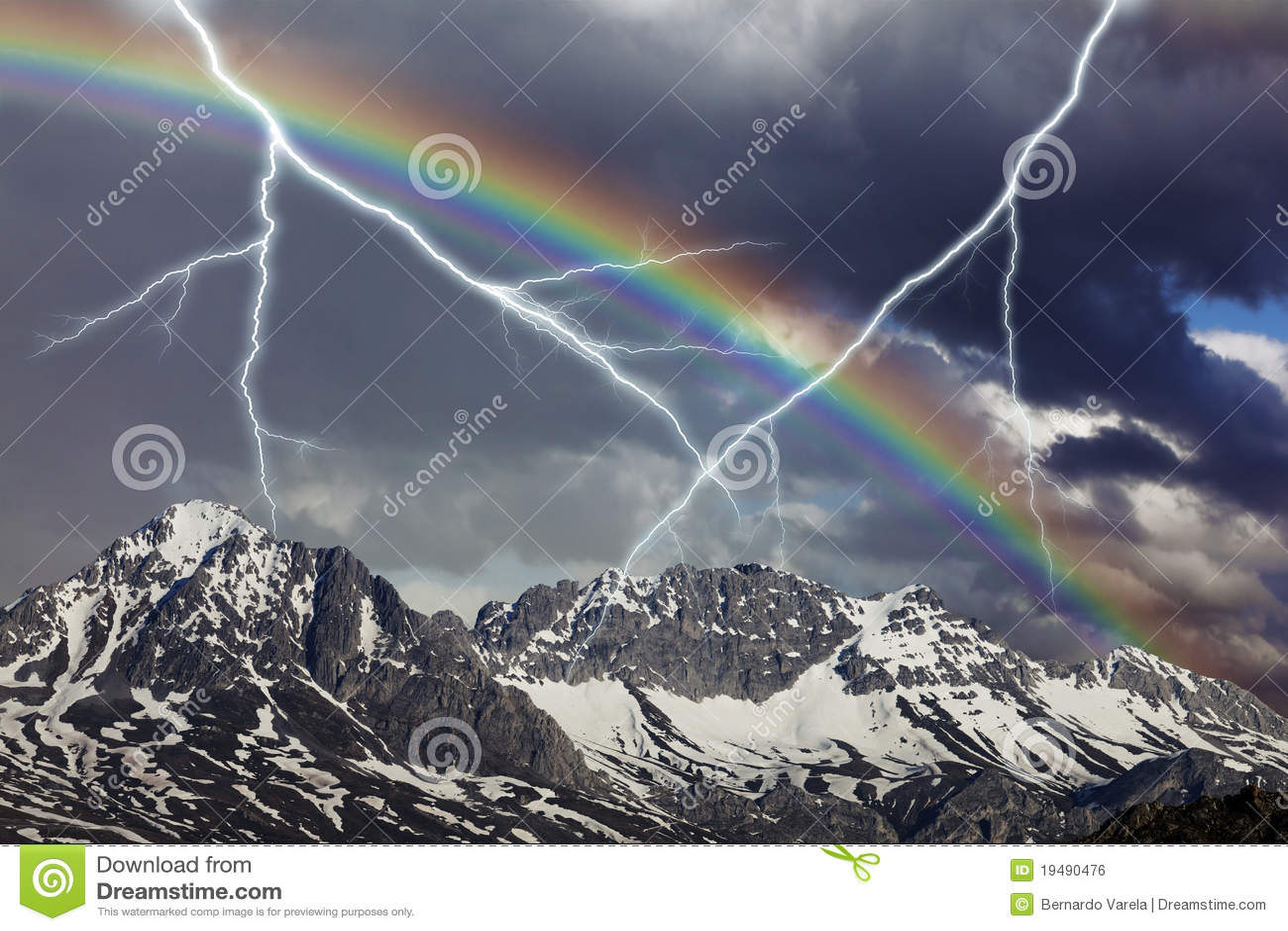шторм радуги