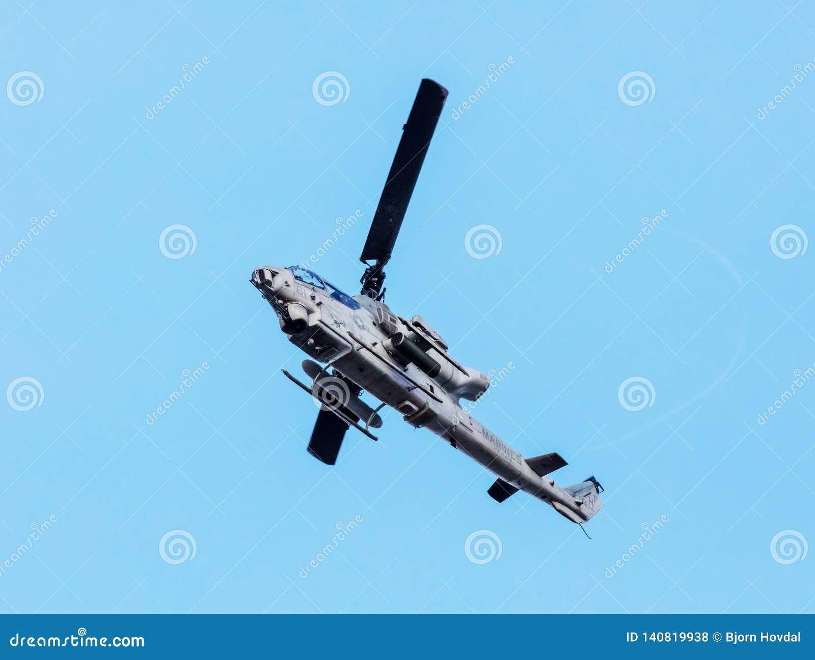 Штурмовой вертолет гадюки колокола AH1Z