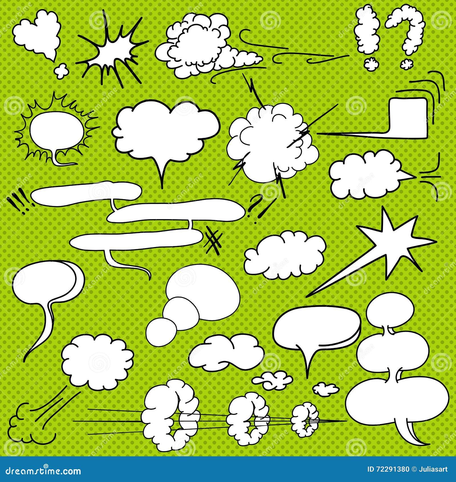Download Шуточный текст заволакивает в стиль искусства шипучки, комплект, нарисованную руку вектор Иллюстрация вектора - иллюстрации насчитывающей облако, bryce: 72291380