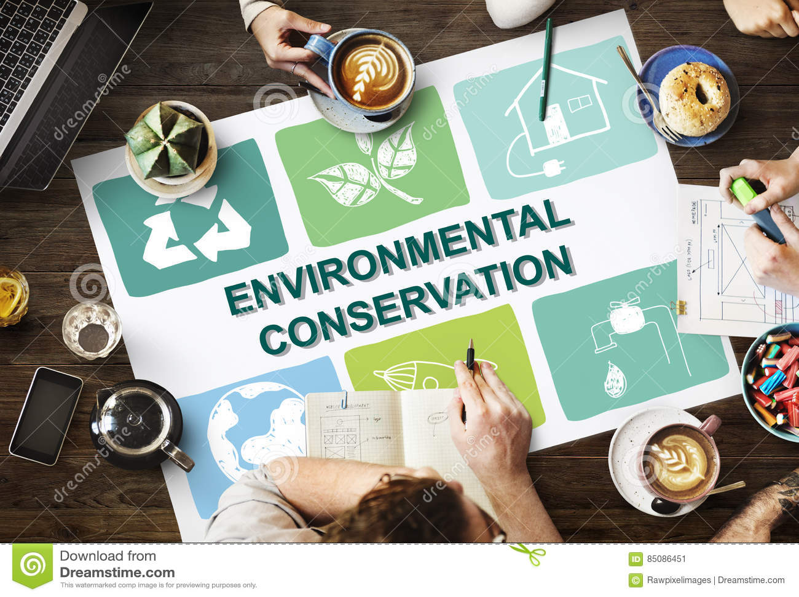 Экологический рост c предохранения от консервации жизни консервации