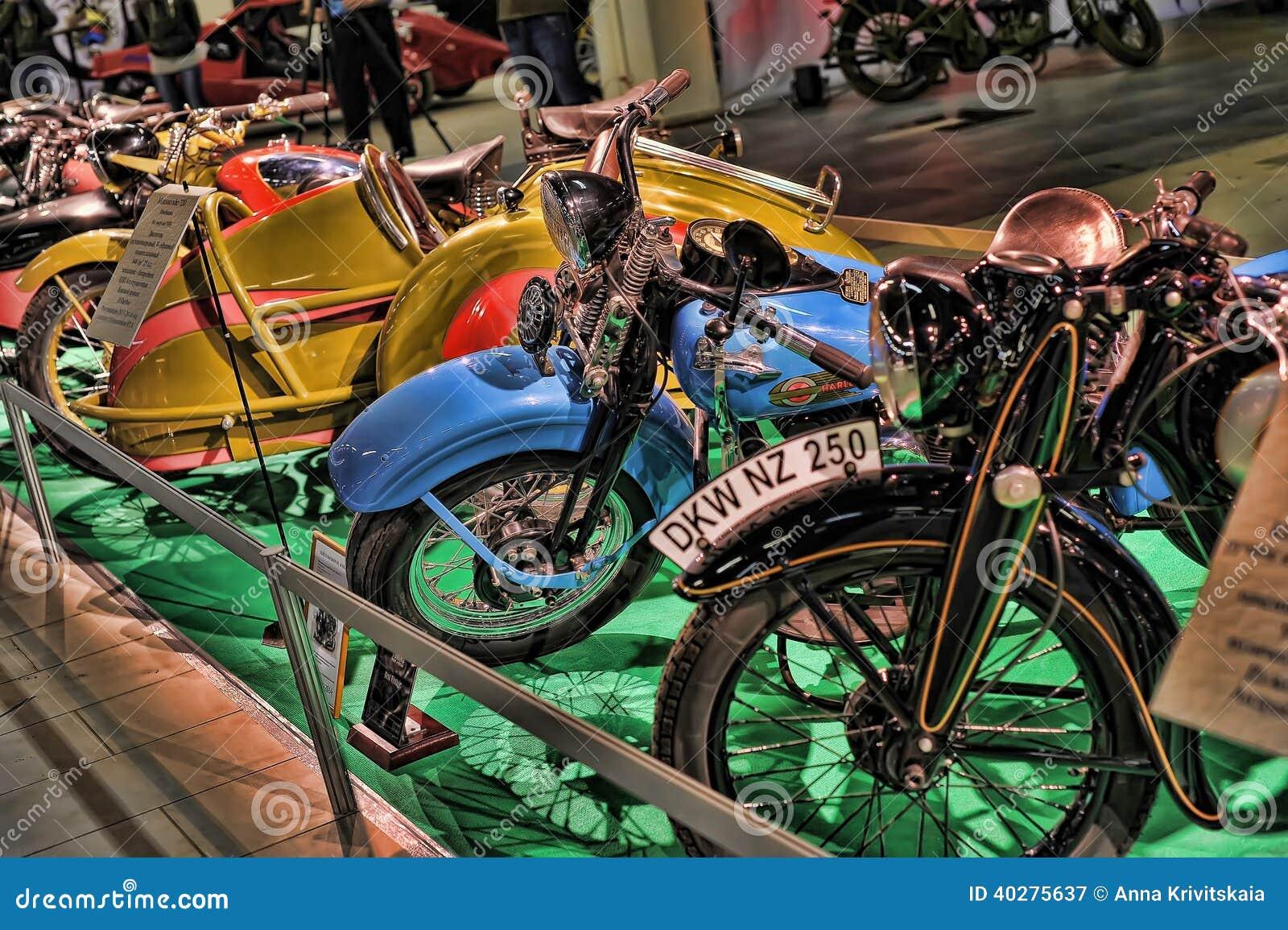 Экспо велосипеда Moto