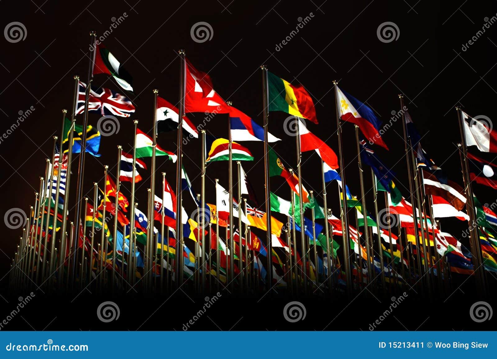 экспо стран flags мир shanghai