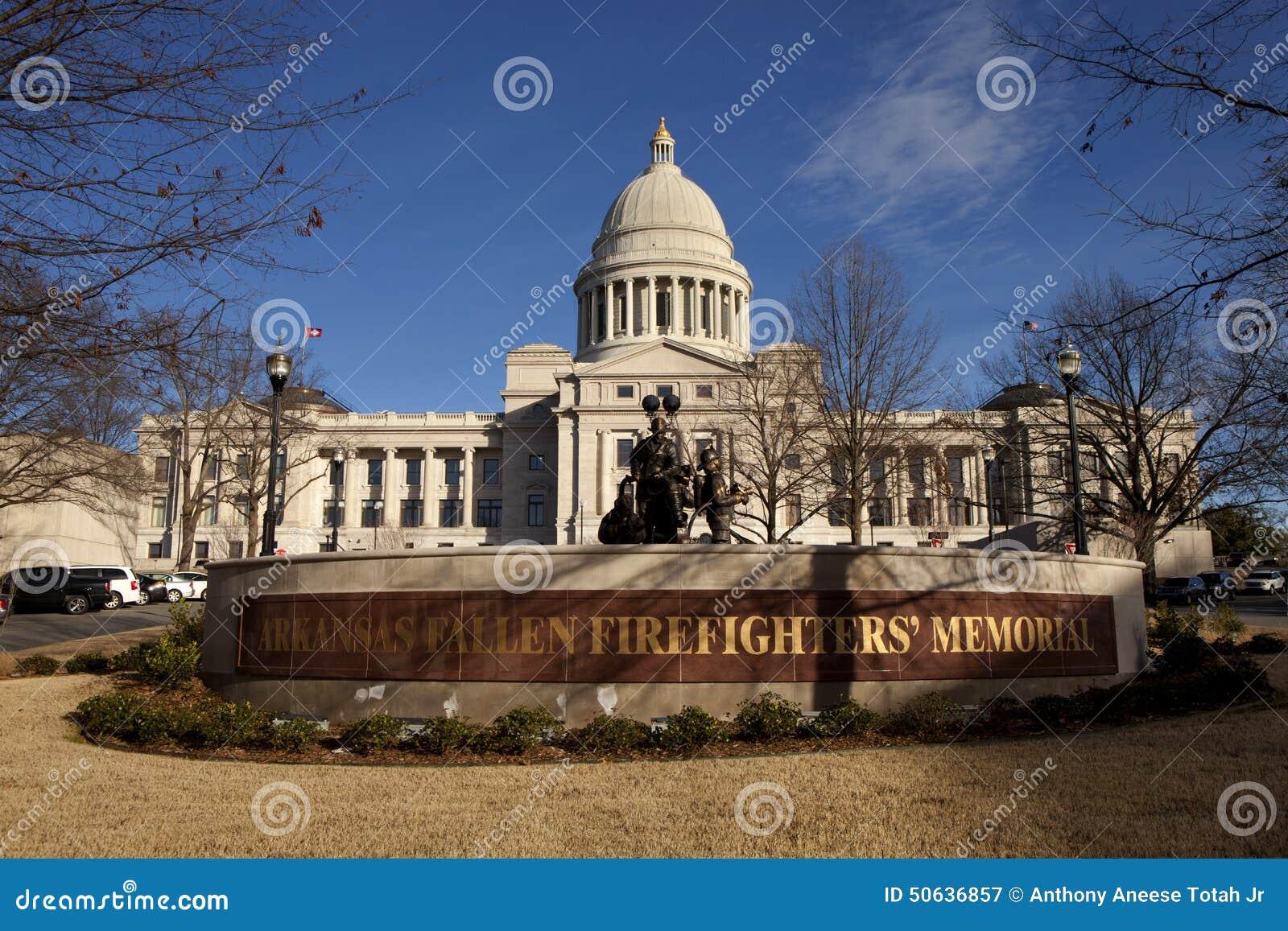 Экстерьер здания капитолия положения Арканзаса в меньшем утесе