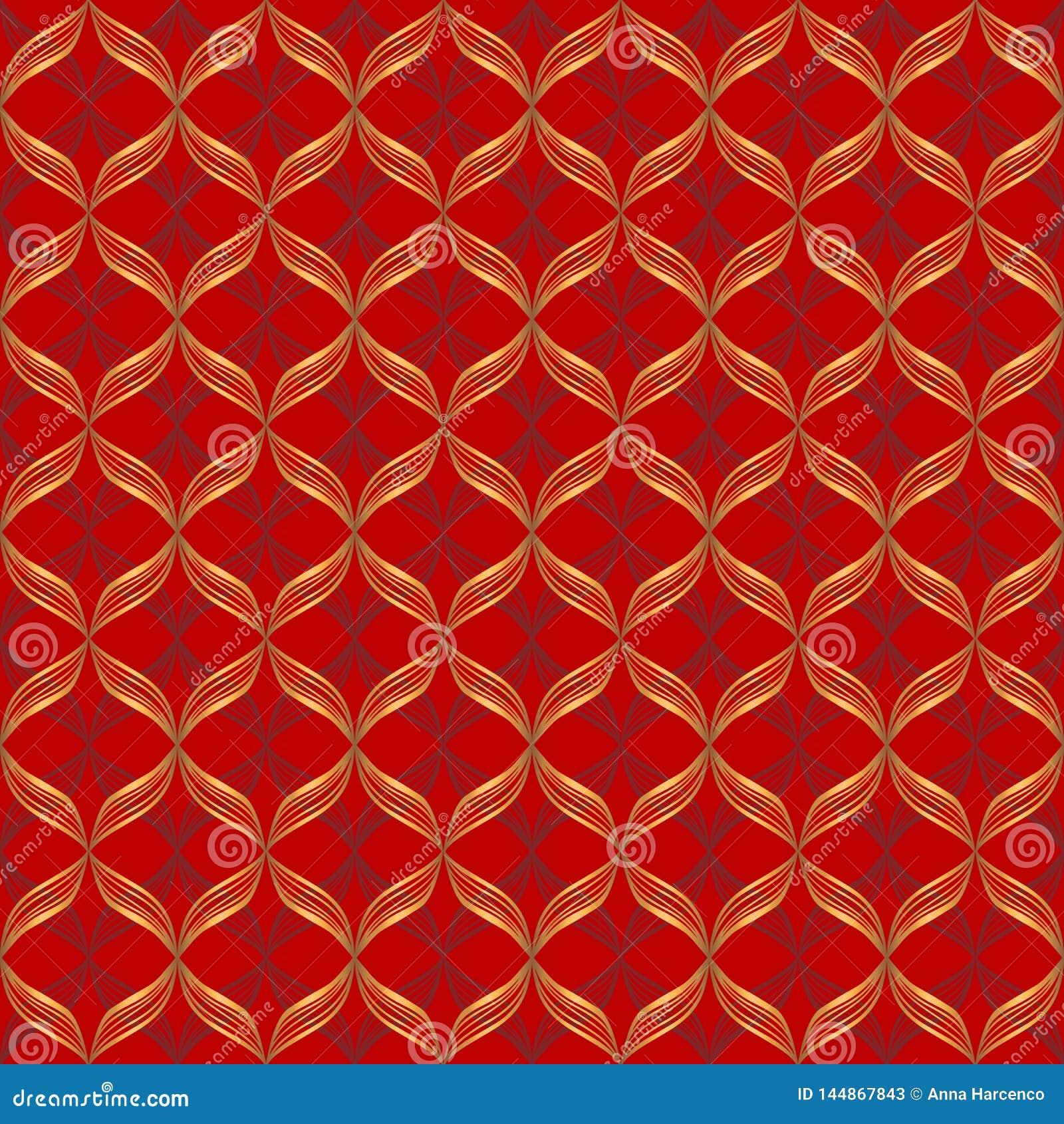Картина конспекта вектора геометрическая безшовная