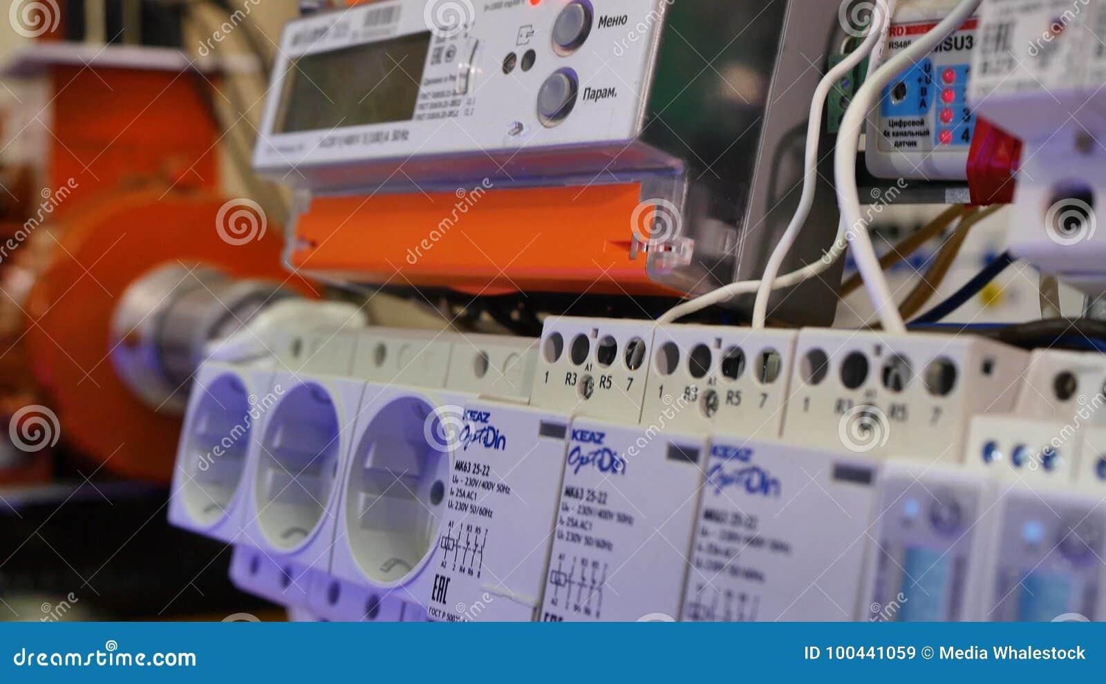 Электрическая стойка электрическая установка closeup