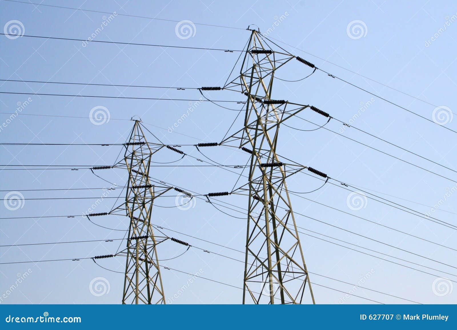 Download электрические линии стоковое изображение. изображение насчитывающей поколение - 627707