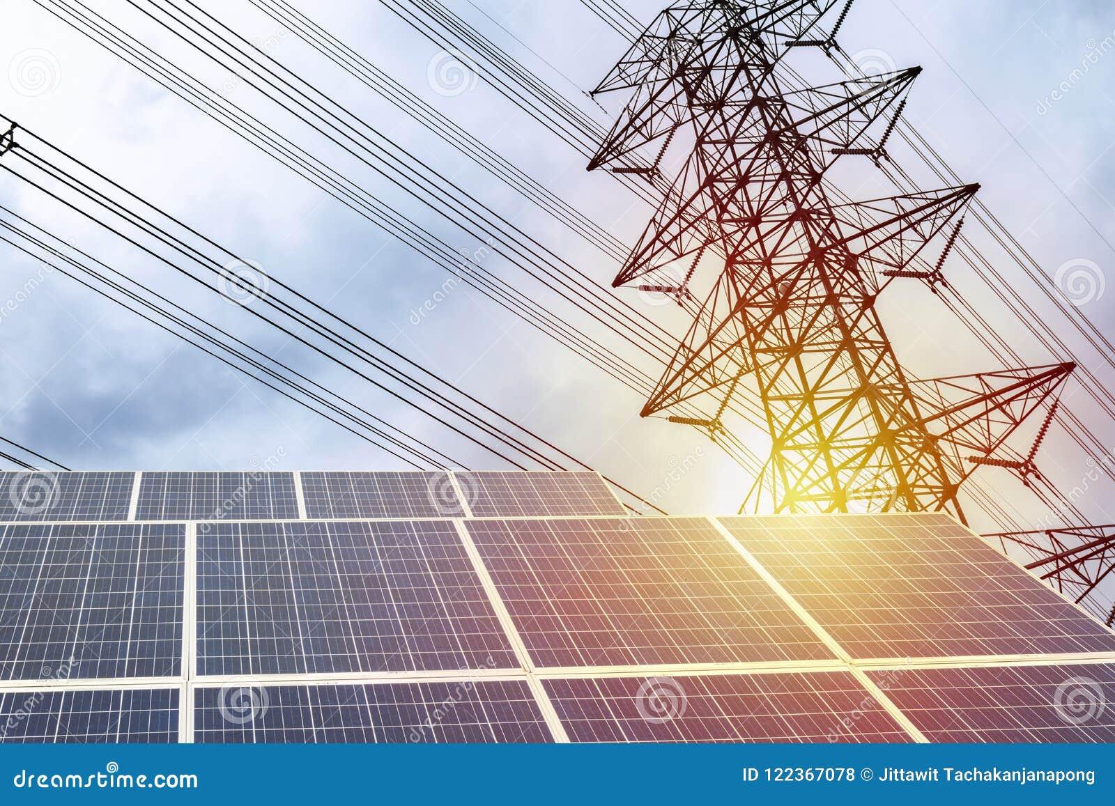 Электричество панель солнечных батарей, высокомощный электрический поляк