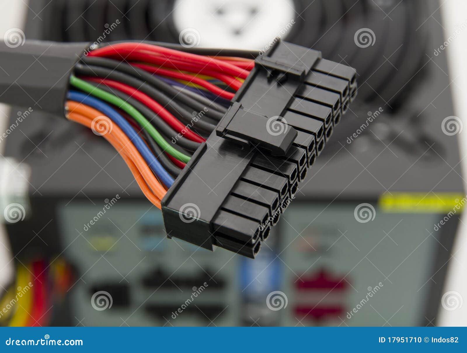 электропитание разъема
