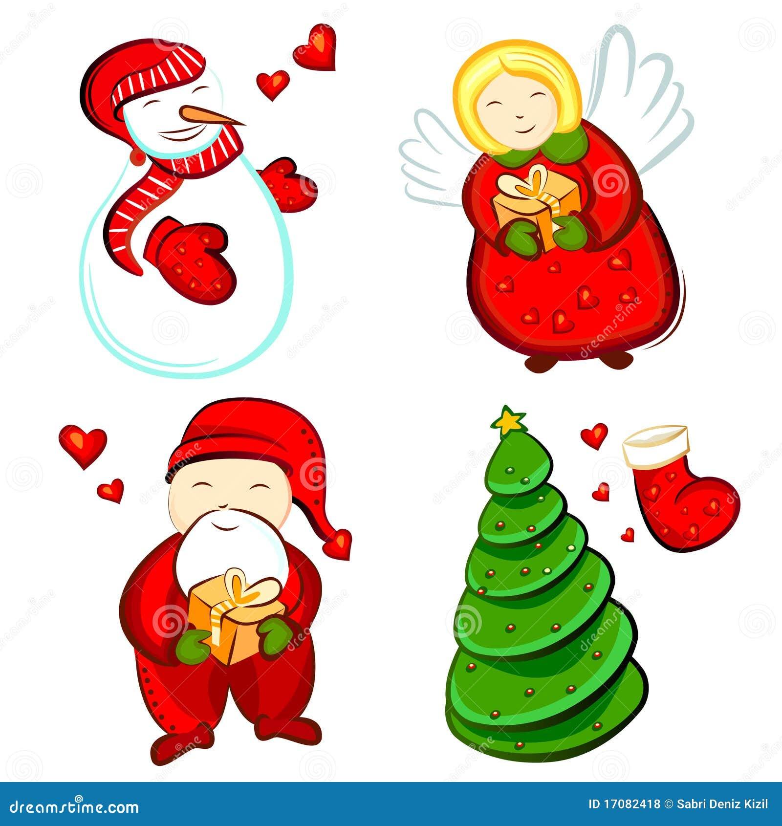 элементы конструкции рождества