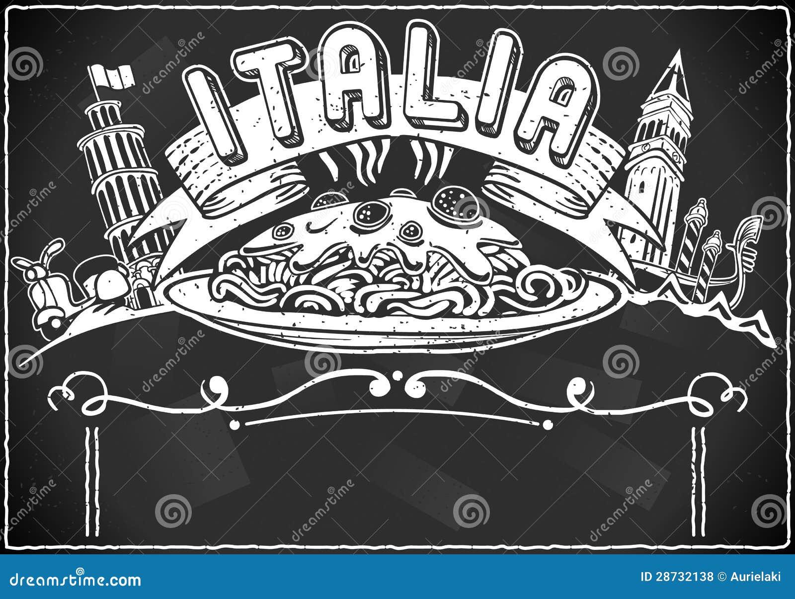 Элемент год сбора винограда графический для итальянского меню первой насечки