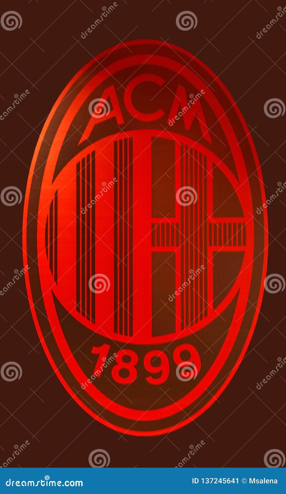 Милан футбол эмблема клуба