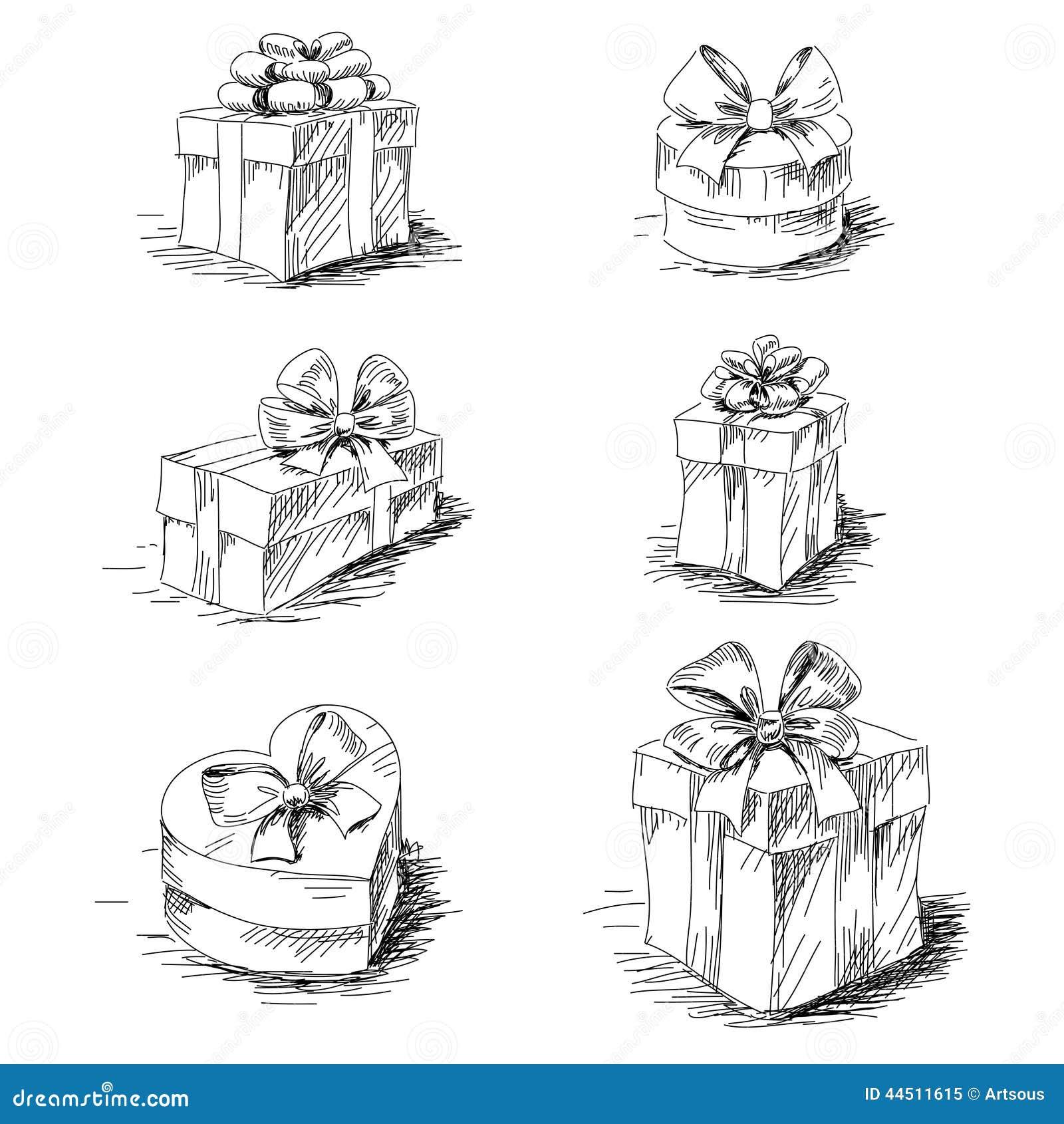 то, картинка подарка в коробке с бантом схематично коммерческая
