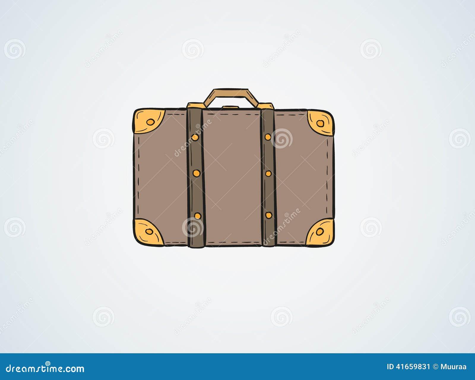Эскиз чемодана