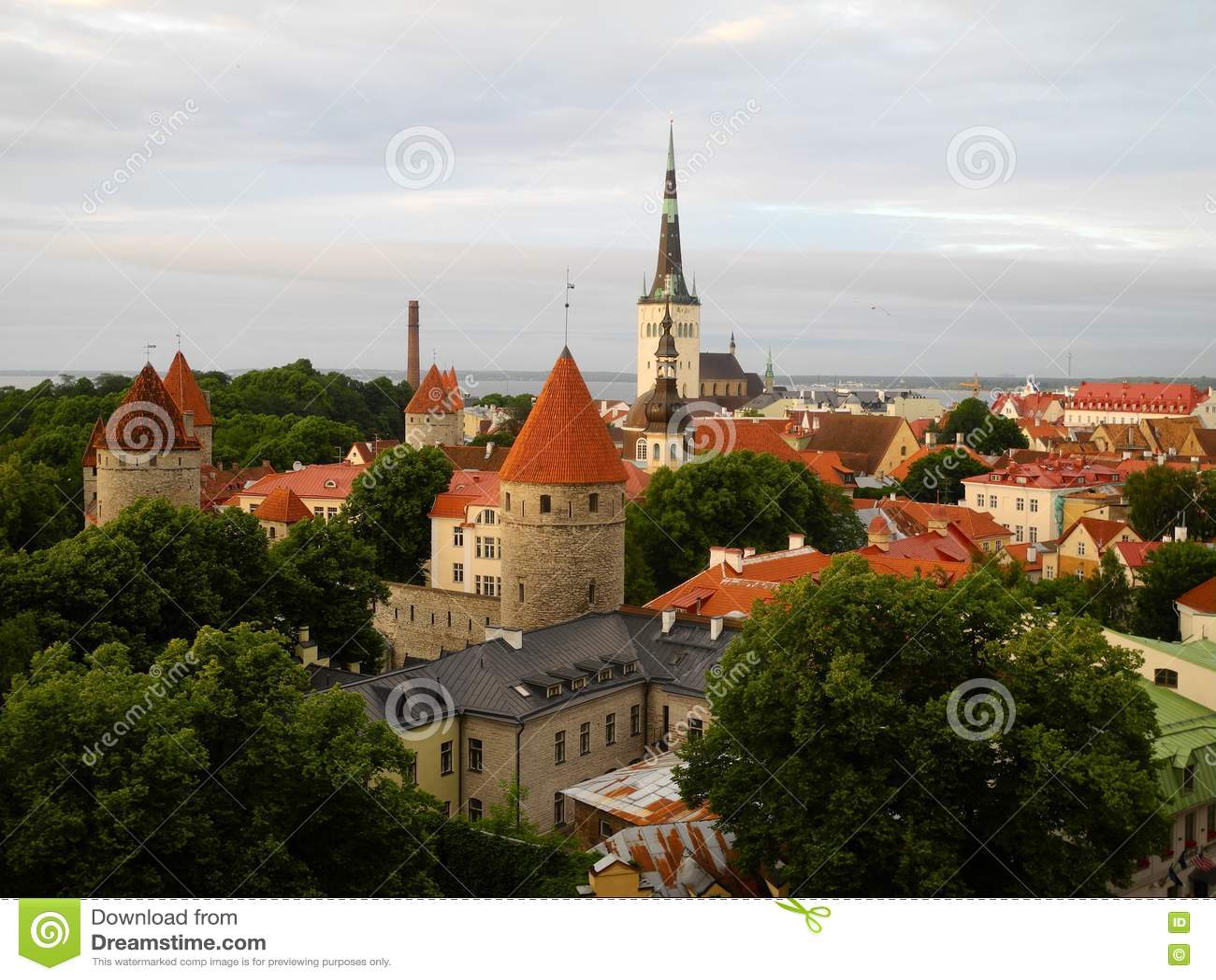 эстония старый tallinn