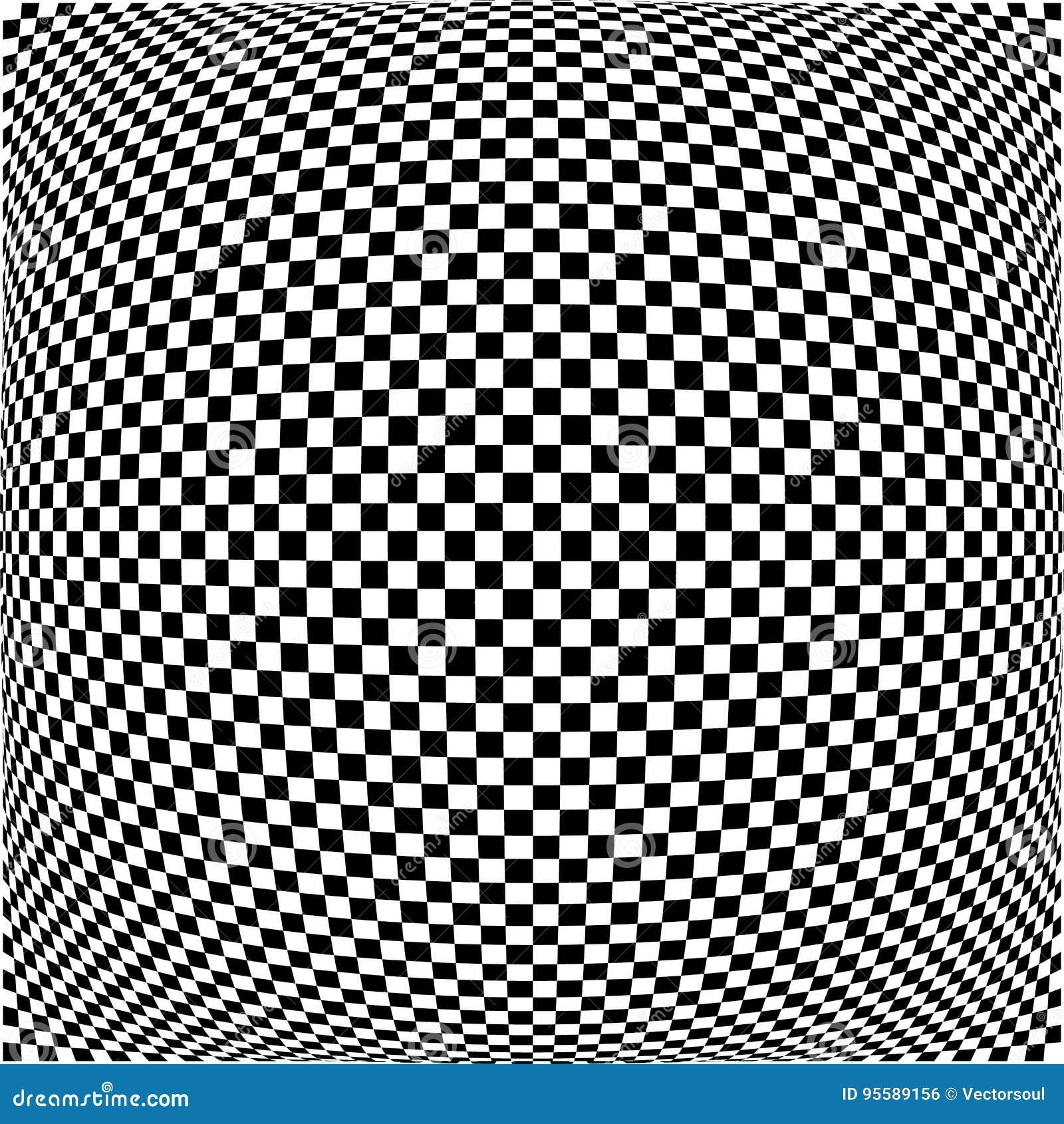 Эффекты искажения на различных картинах Геометрическое деформированное textu