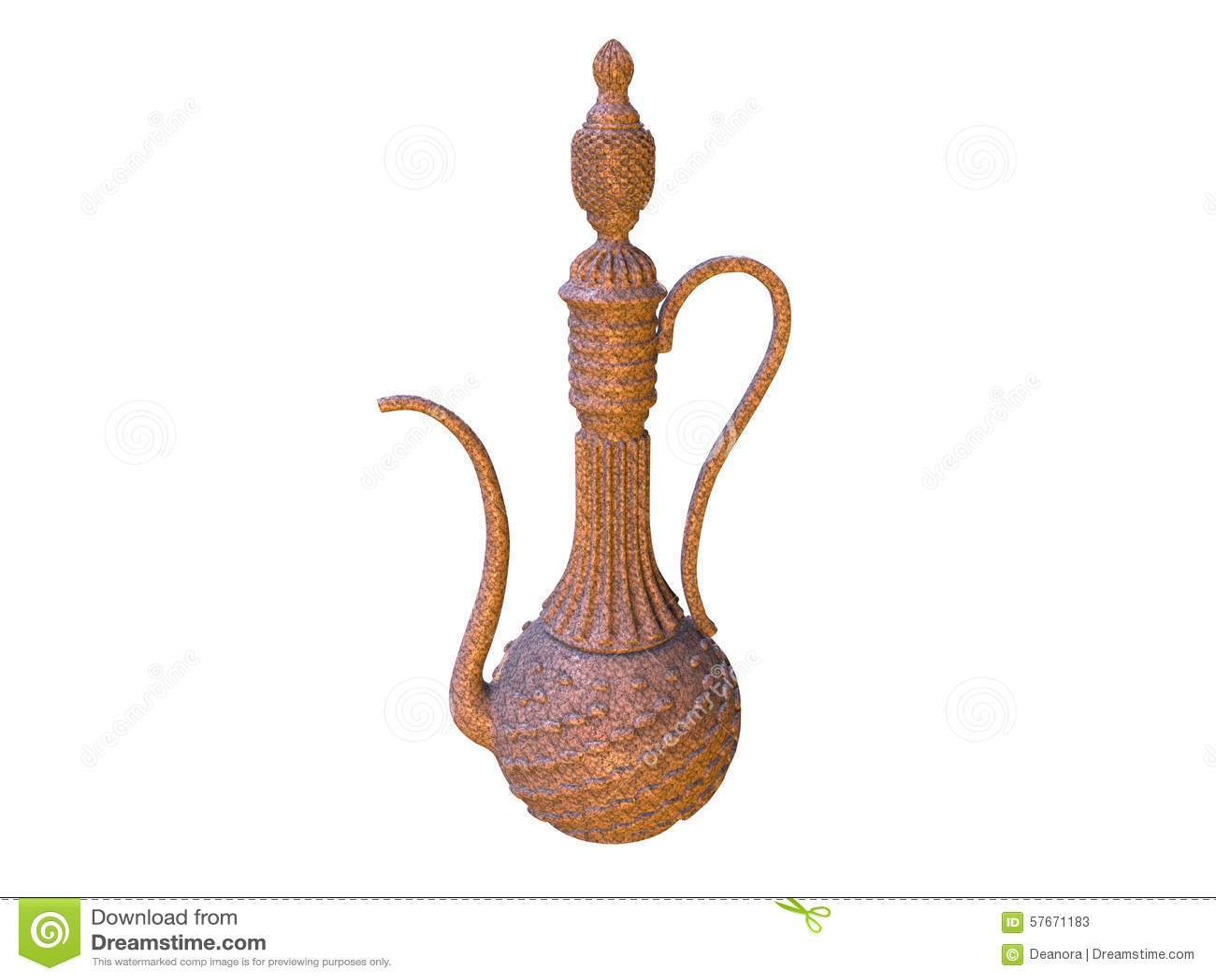 Элегантный декоративный опарник в стиле Востока