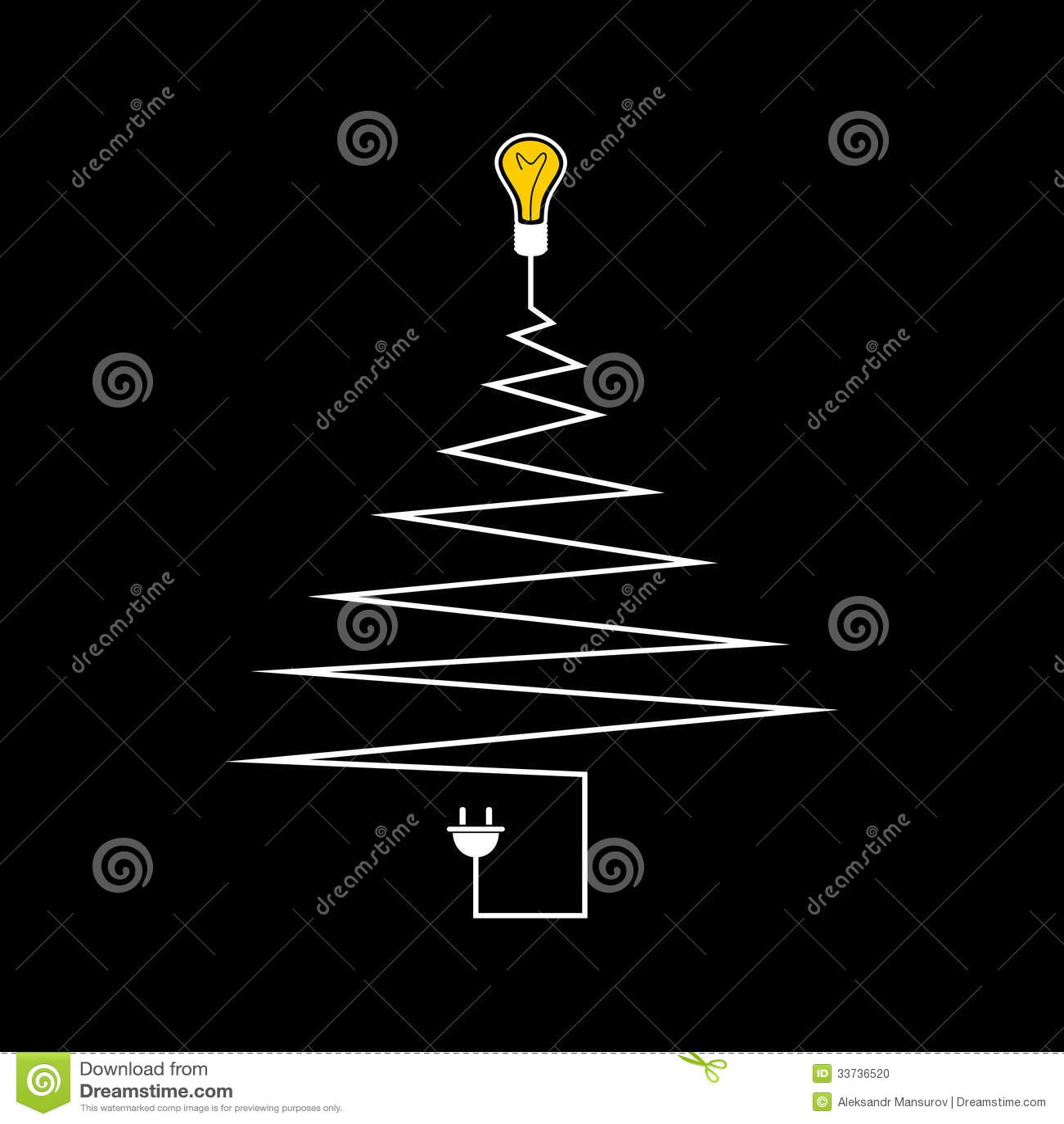 Электрическая рождественская елка