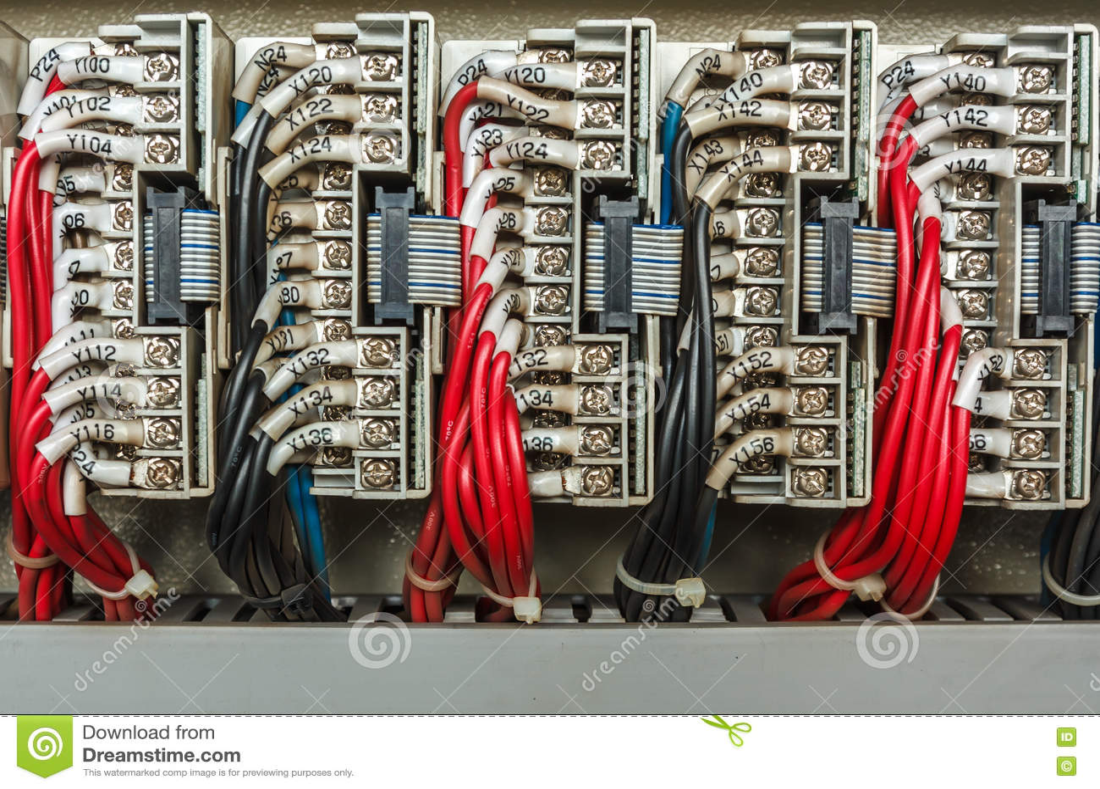 Электрическая система контрольного провода