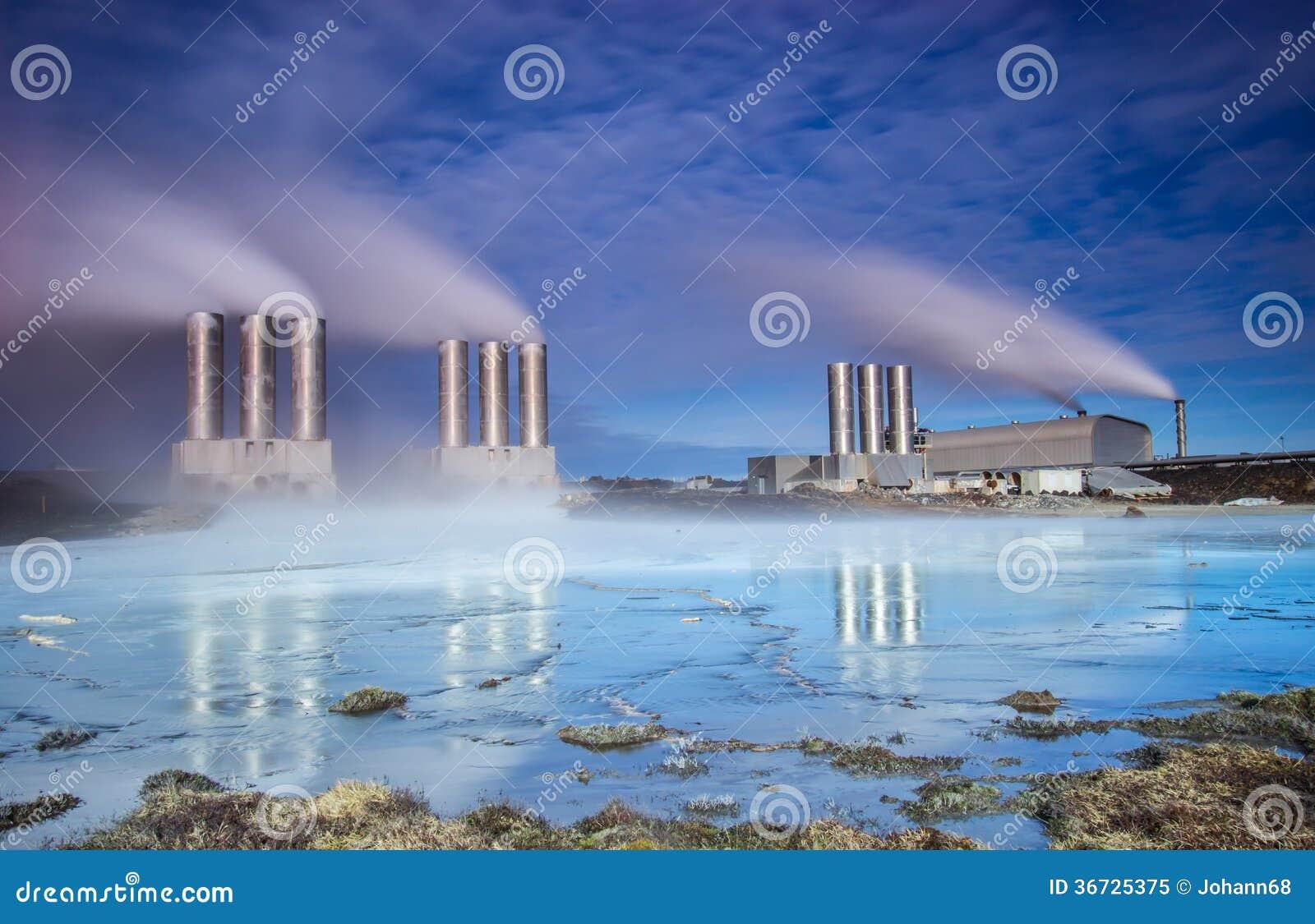 Электрическая станция геотермальной энергии