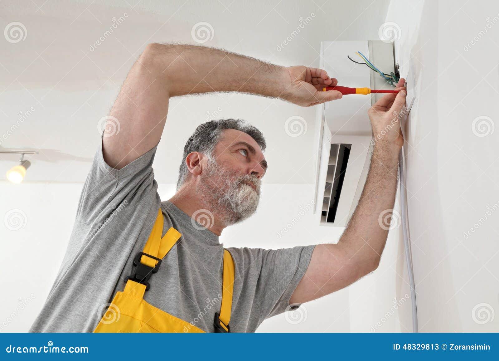 Электрическая установка кондиционера ремонт стиральных машин в самаре стоимость