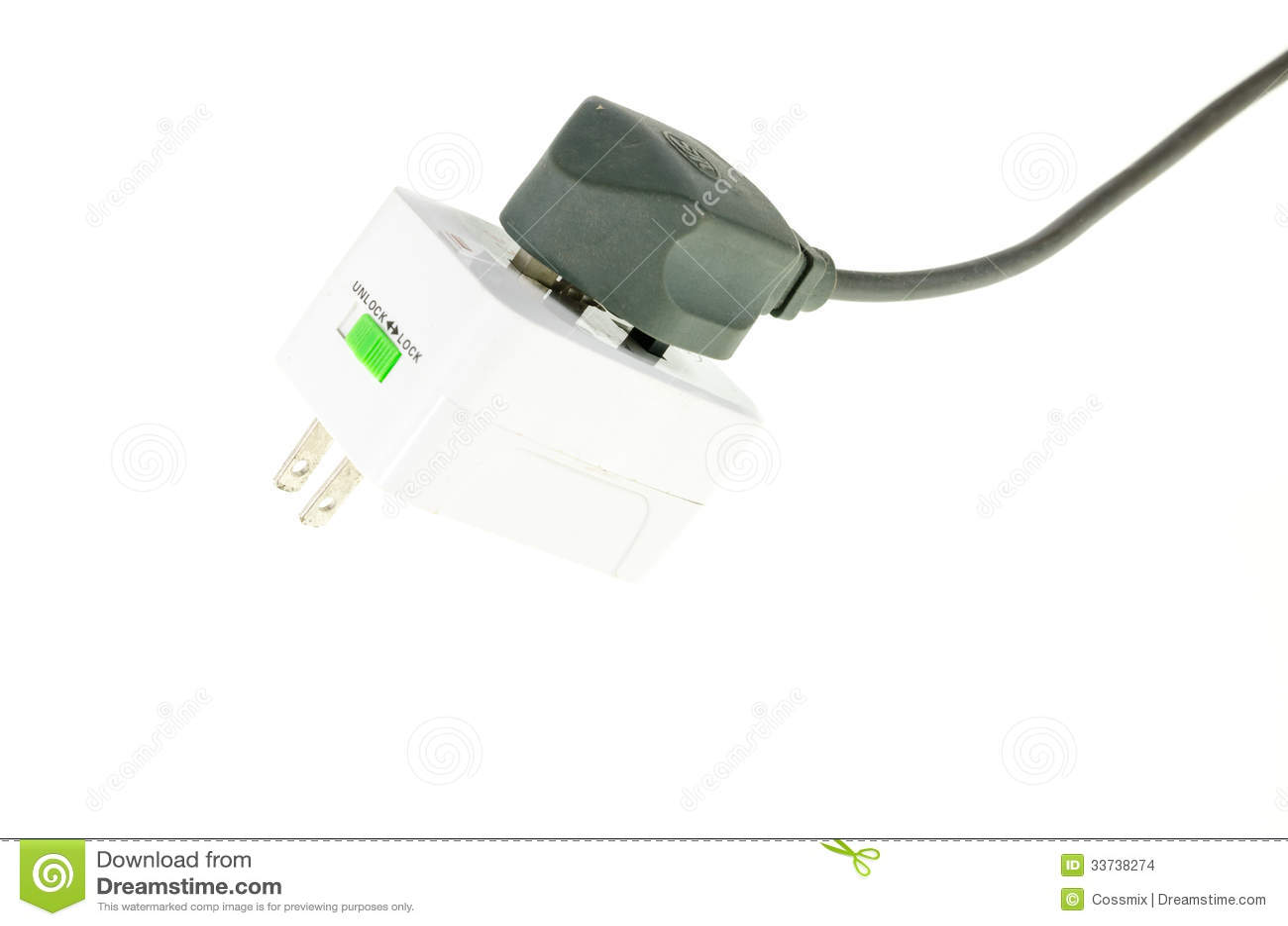 Электрическая штепсельная вилка