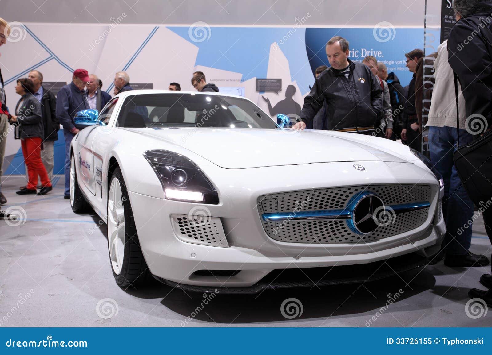 Электрический привод Benz SLS Мерседес