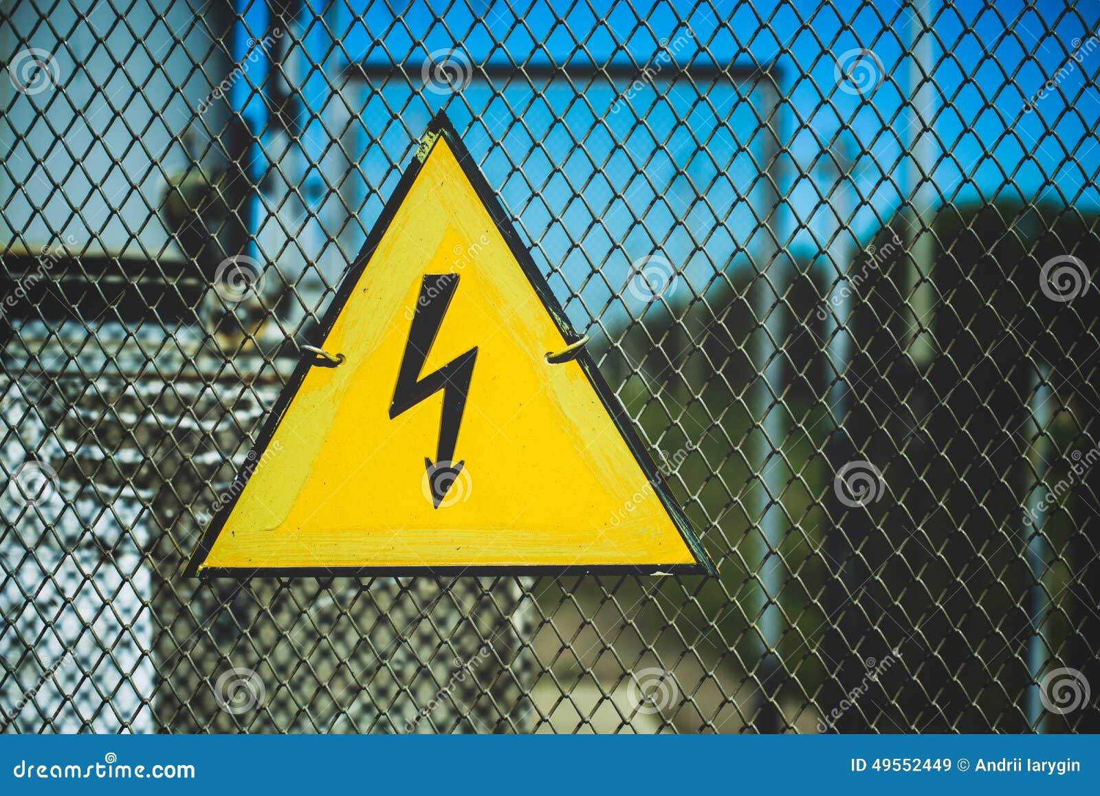 Электричество символа