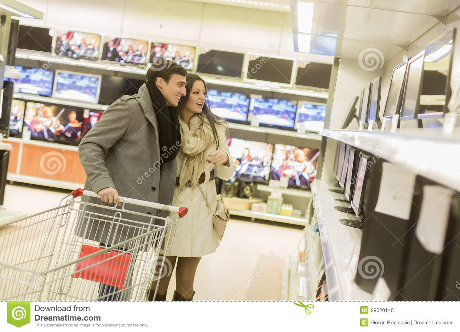 Электроника покупок пар