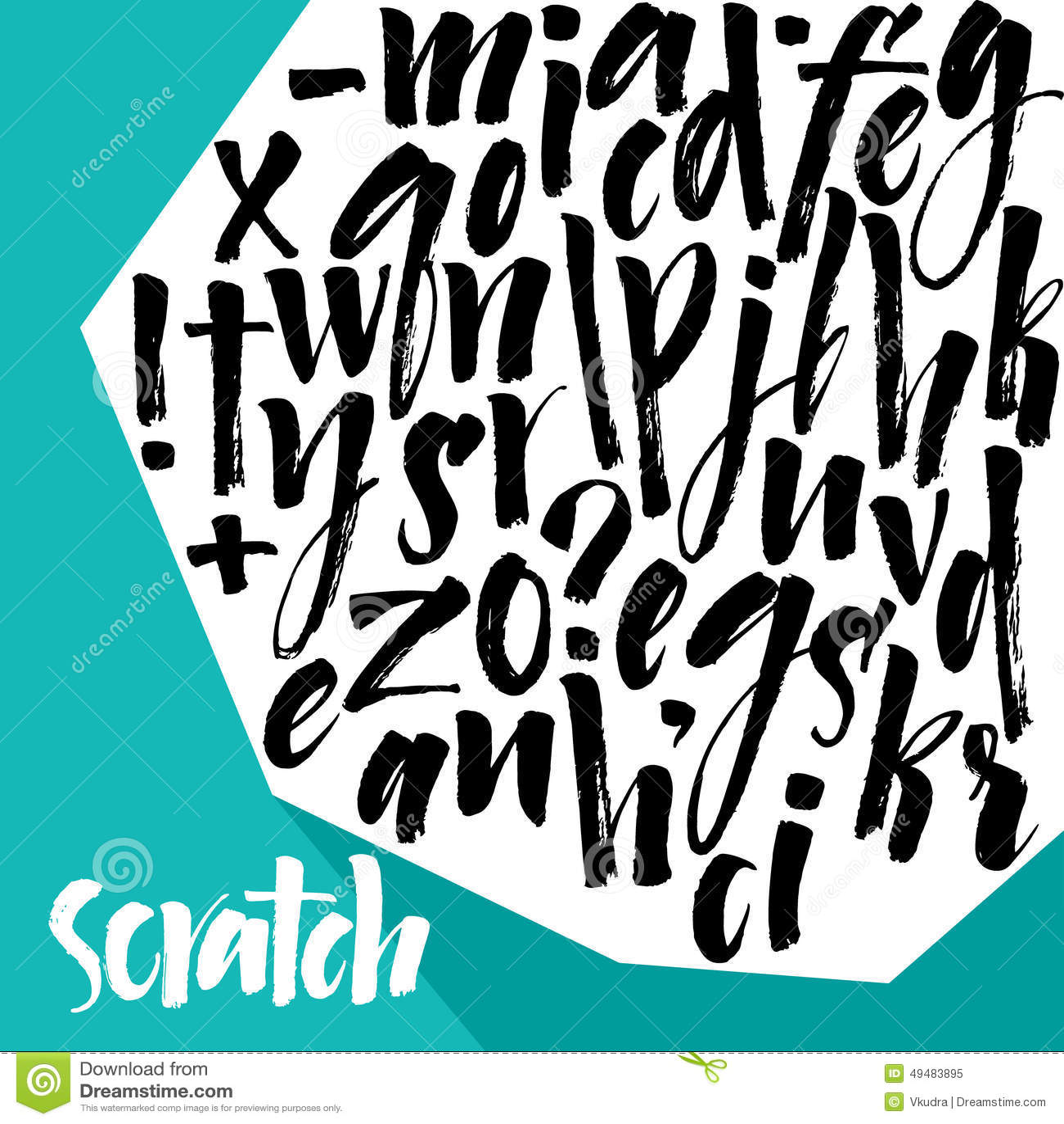 элементы алфавита scrapbooking вектор