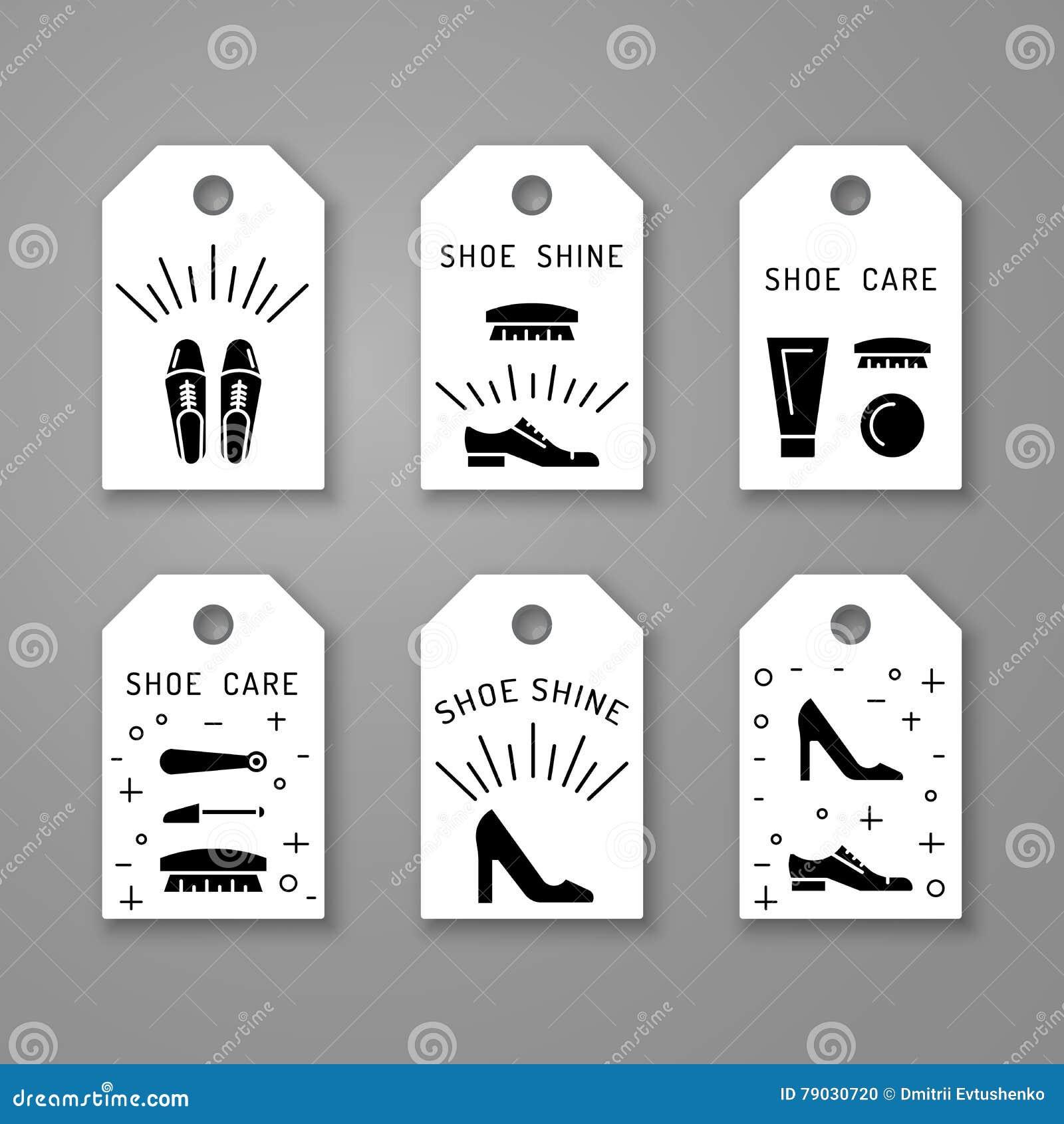Элементы заботы ботинка