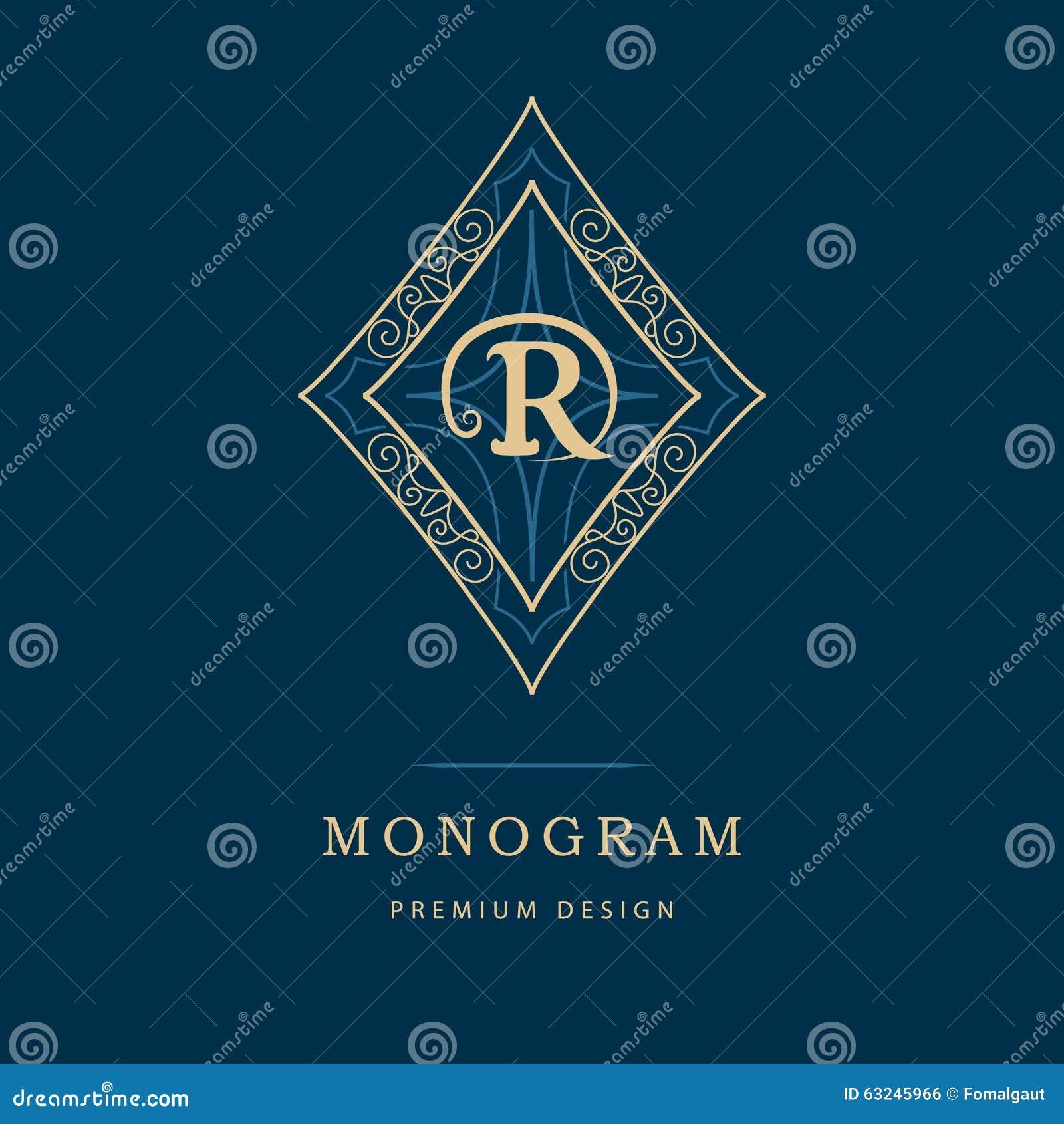 Элементы дизайна вензеля, грациозно шаблон Каллиграфическая элегантная линия дизайн логотипа искусства