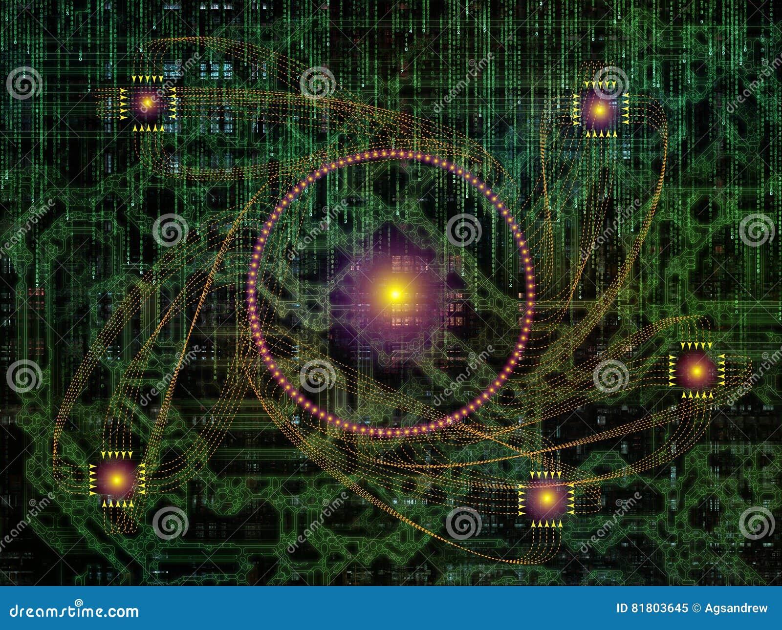 Элементы связей технологии