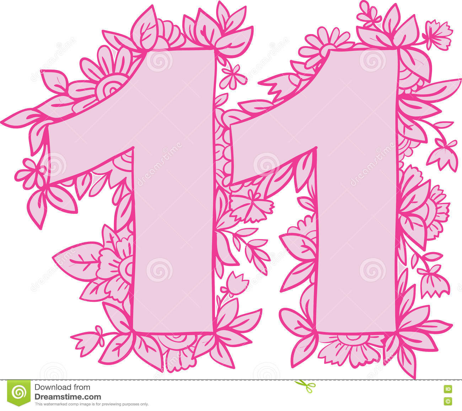 Открытки с цифрой 11