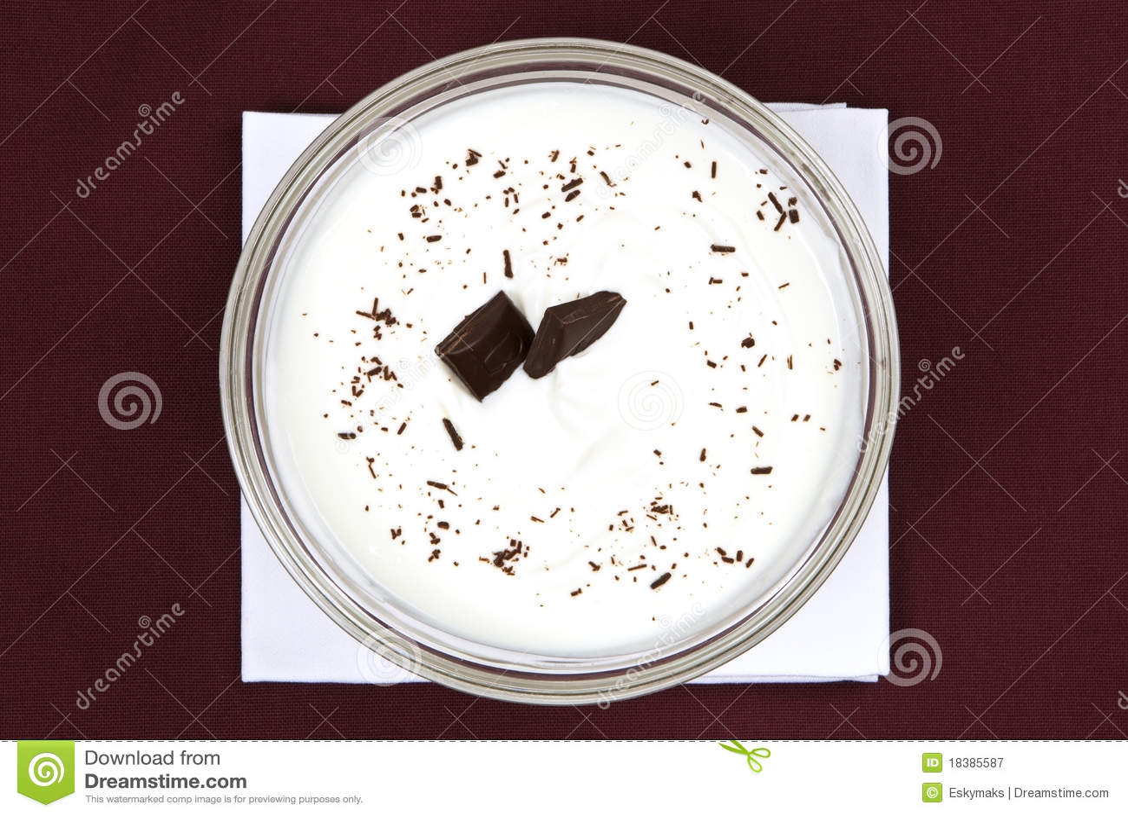 югурт шоколада шара свежий