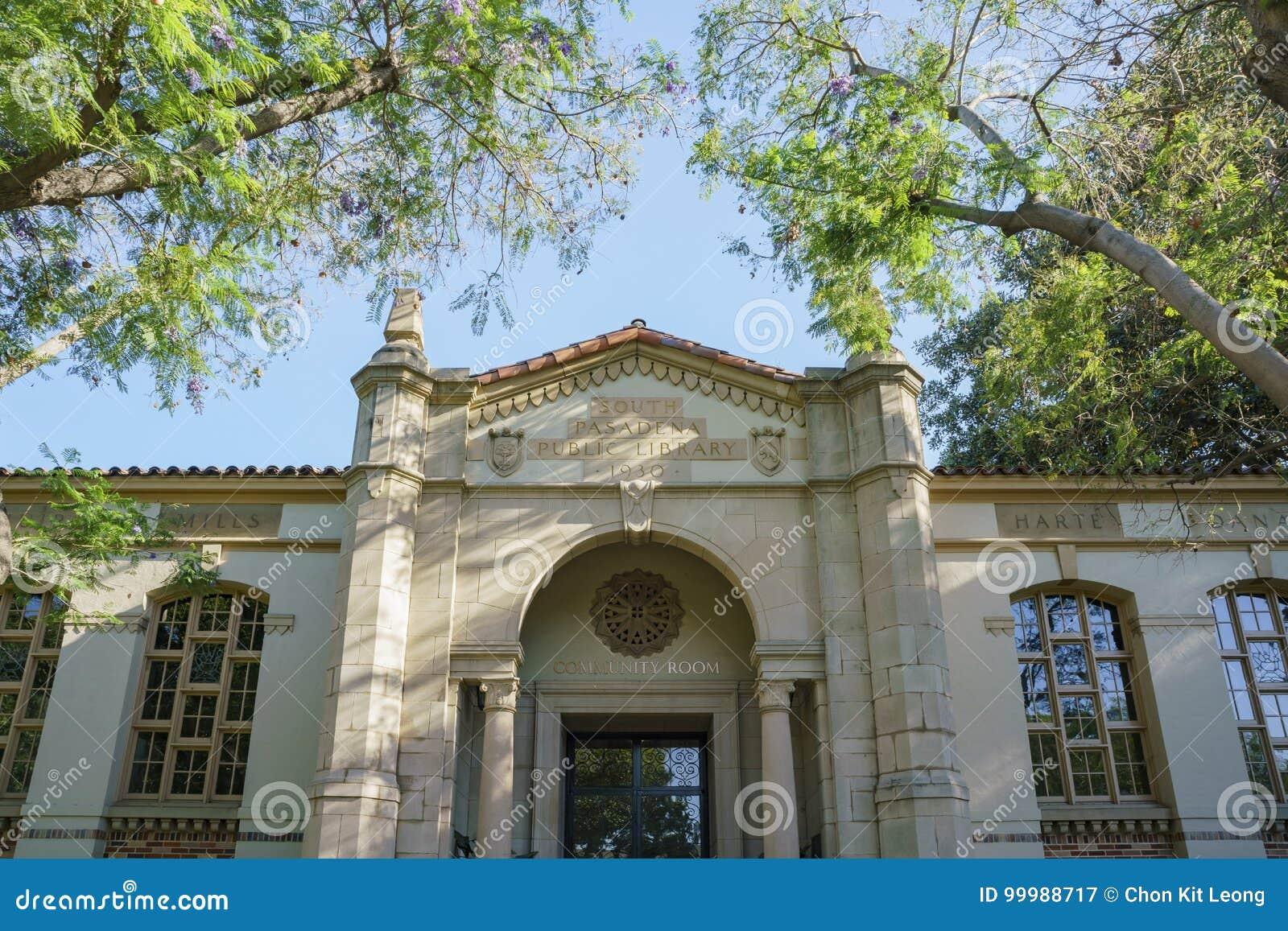 Южная публичная библиотека Пасадина