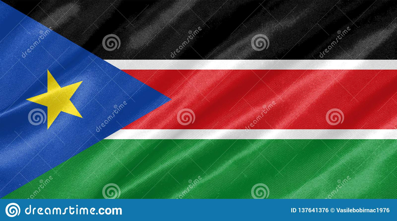 Южный флаг Судана
