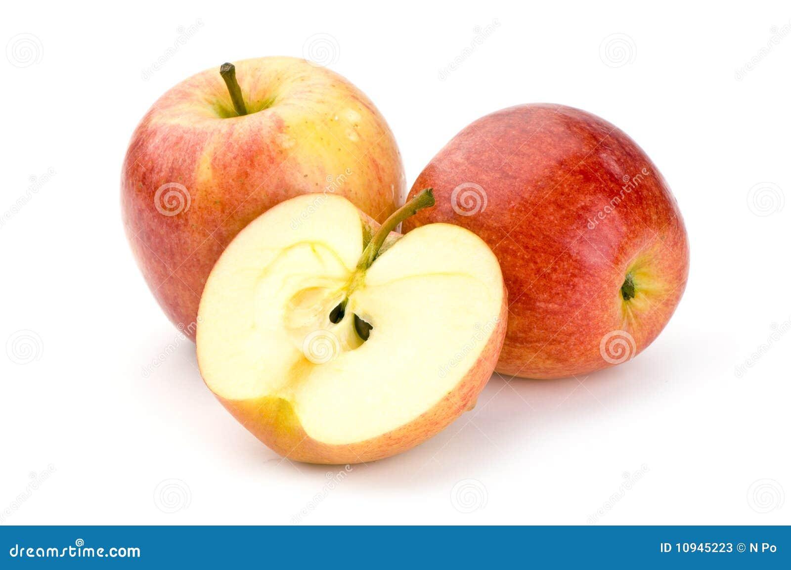 яблоки закрывают вверх