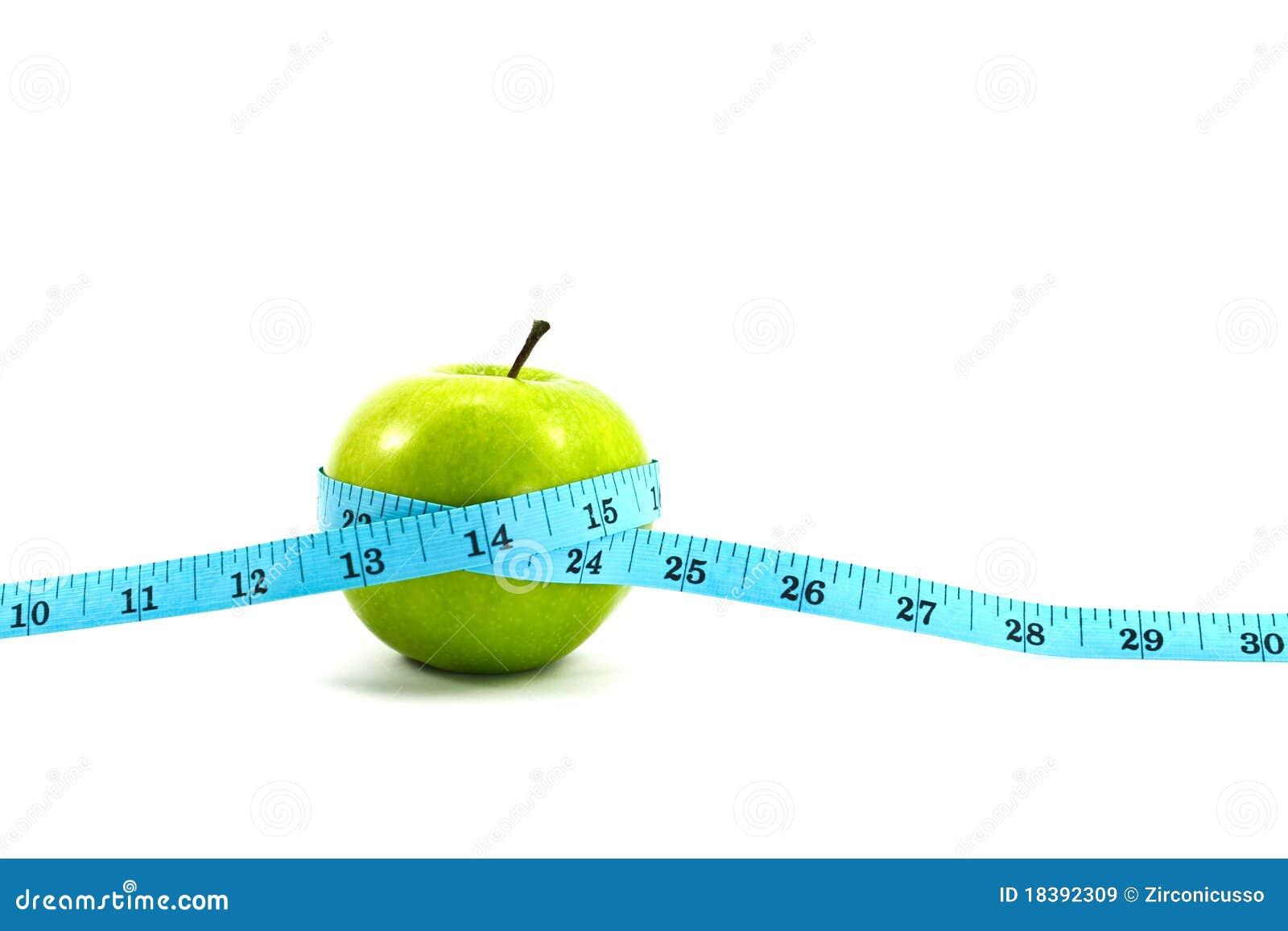 яблоко - зеленая лента