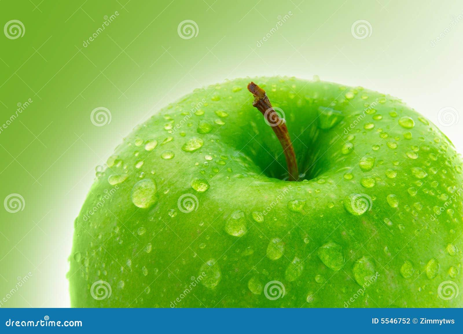 яблоко - зеленый цвет