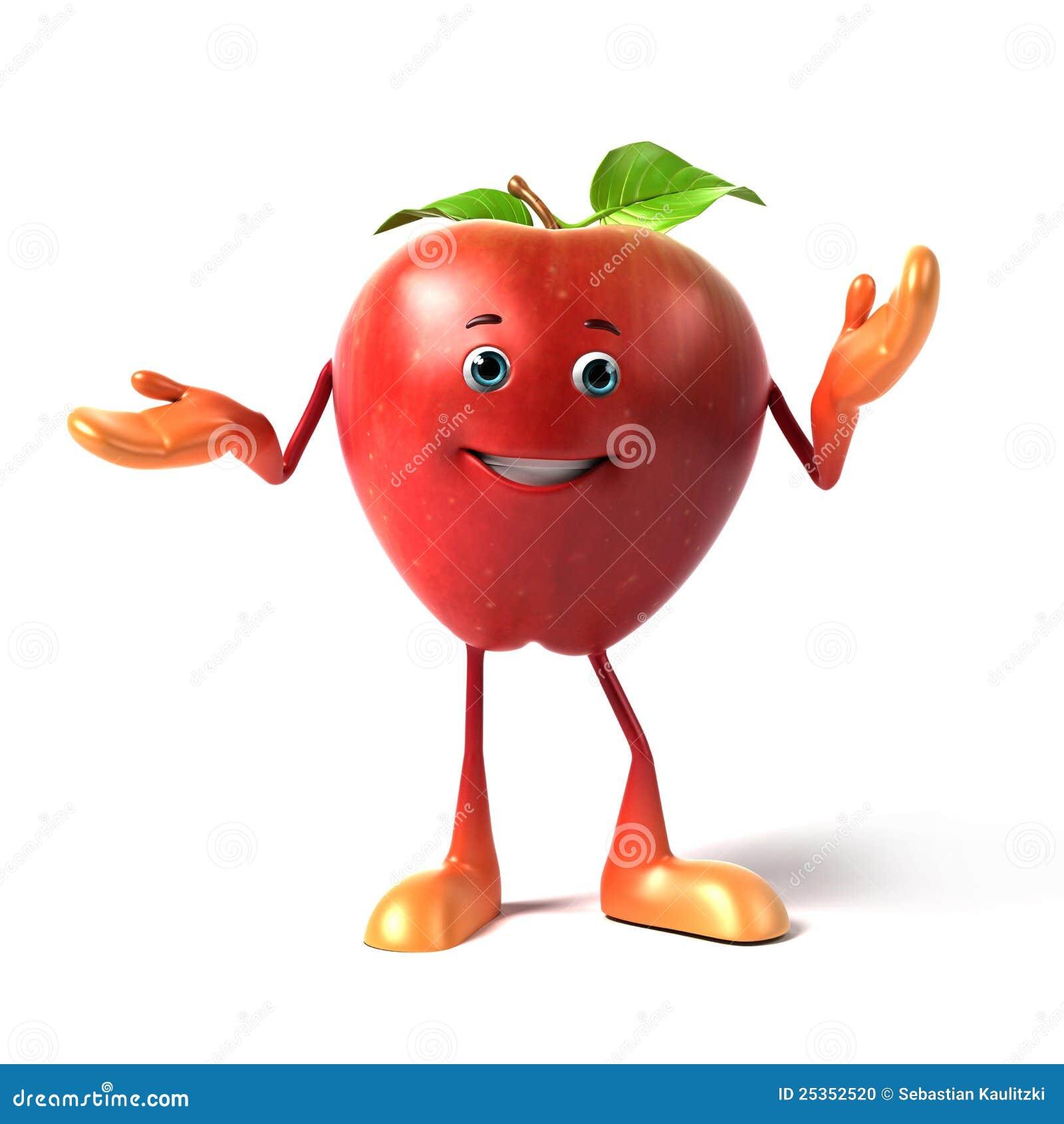 яблоко смешное