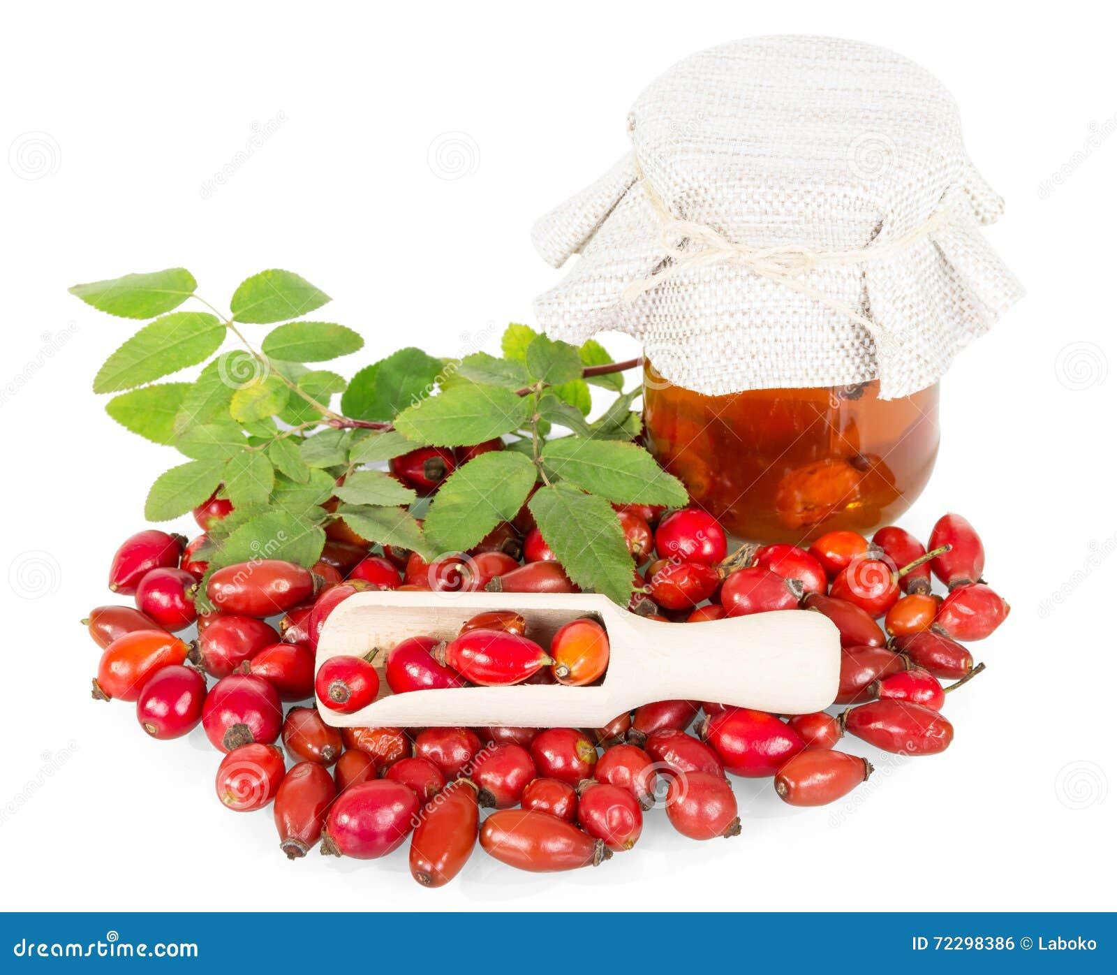 Download Ягоды плода шиповника, чонсервные банкы соды и ветроуловитель изолированные на белизне Стоковое Фото - изображение насчитывающей обще, медицинско: 72298386