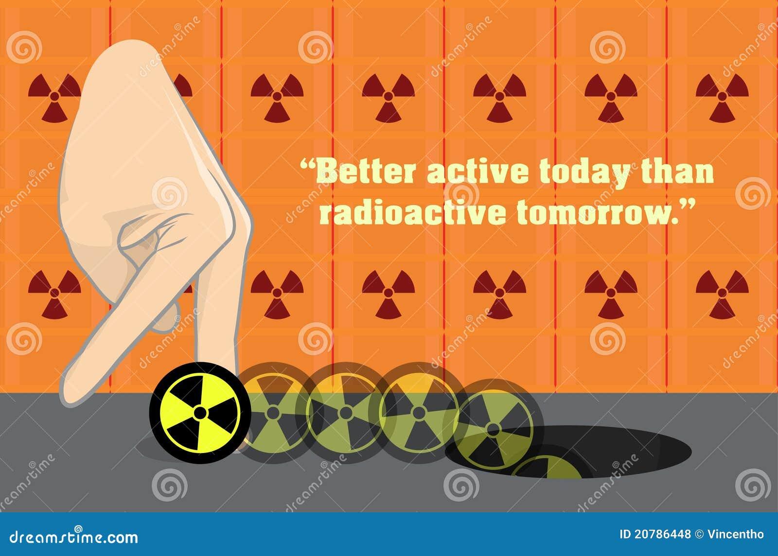 ядерный потенциал anti иллюстрации ядерный радиоактивный