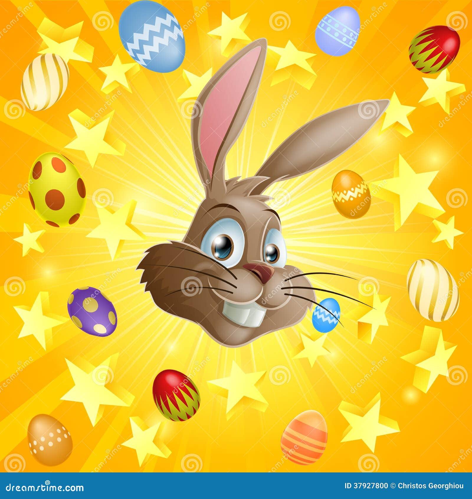 Яичка кролика и шоколада пасхи