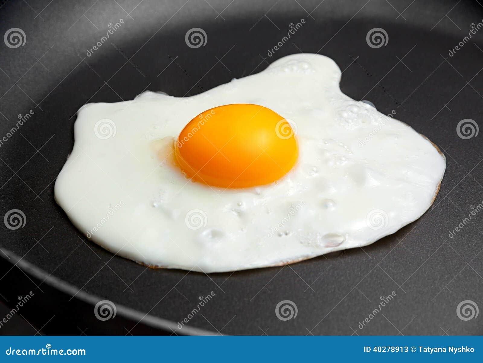 Яичко жареной курицы